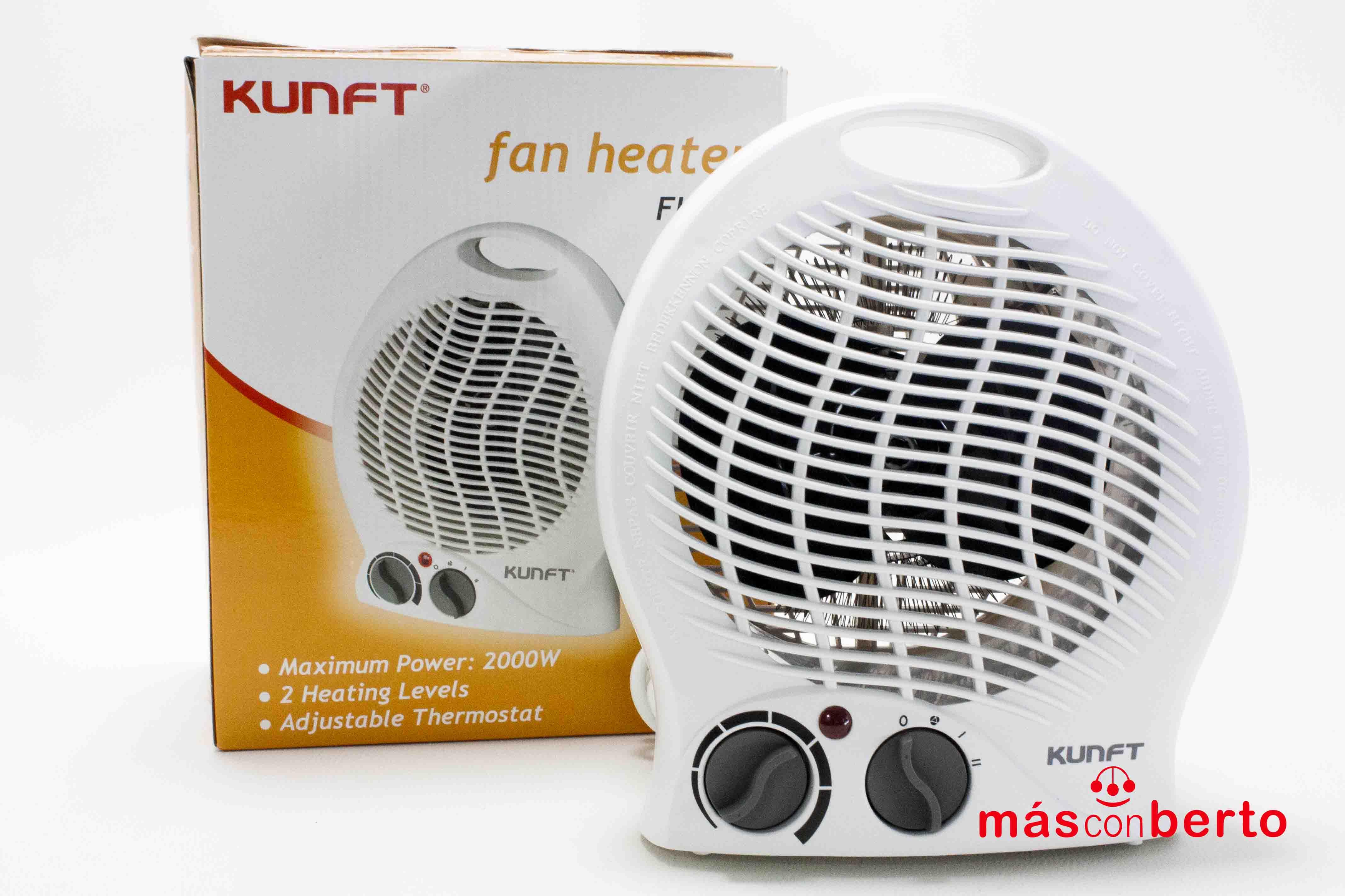 Calefactor Kunft FH104 2000W