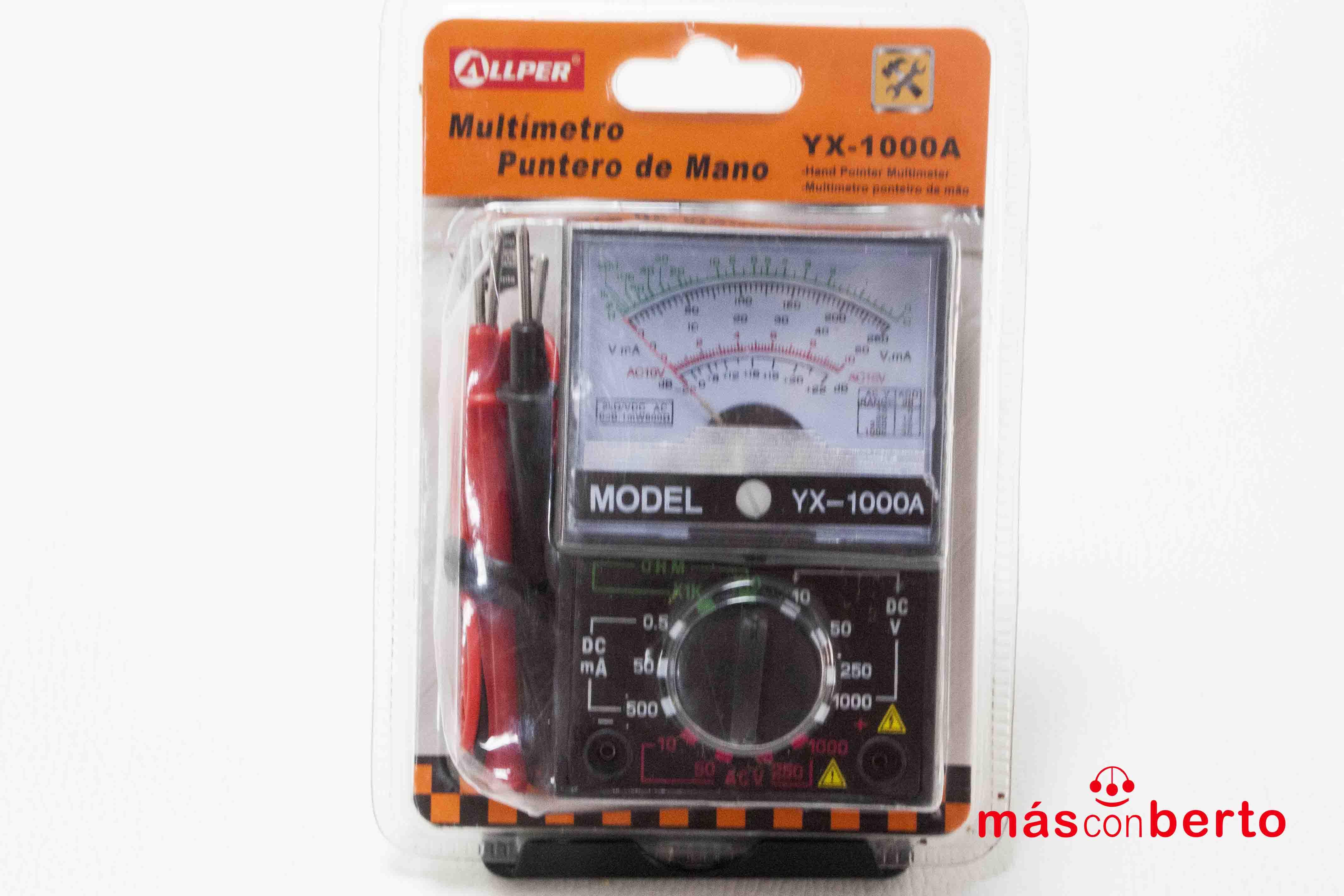 Multímetro Allper YX-1000A