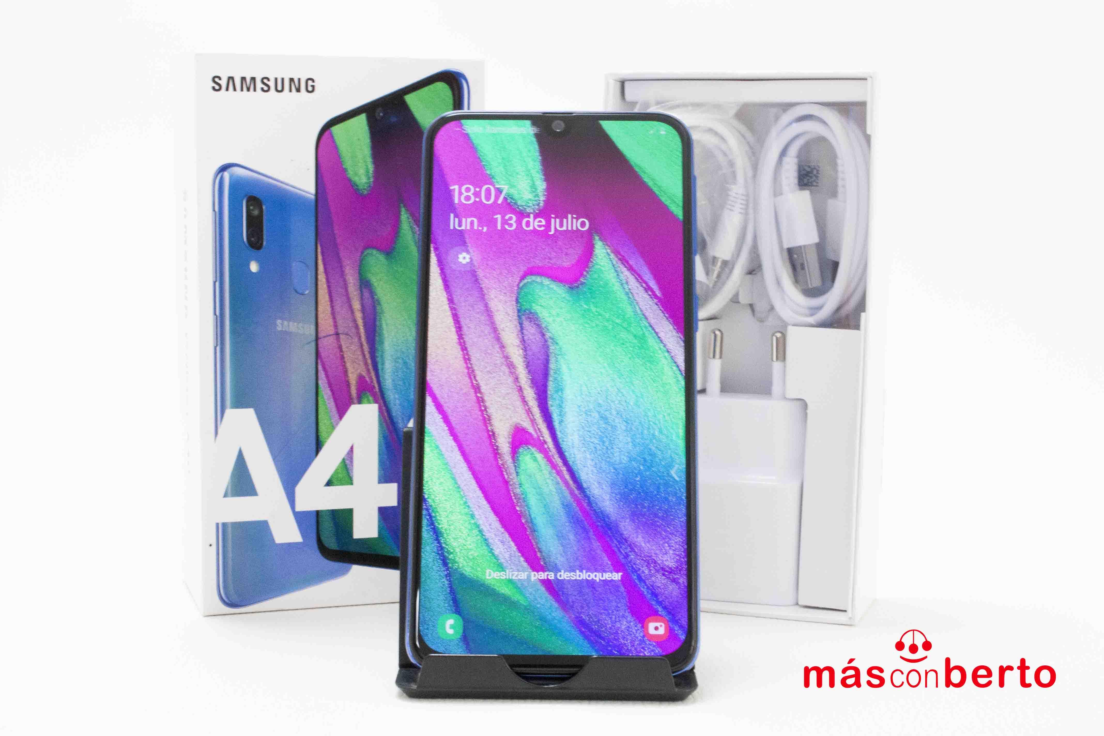 Móvil Samsung A40 Azul NUEVO