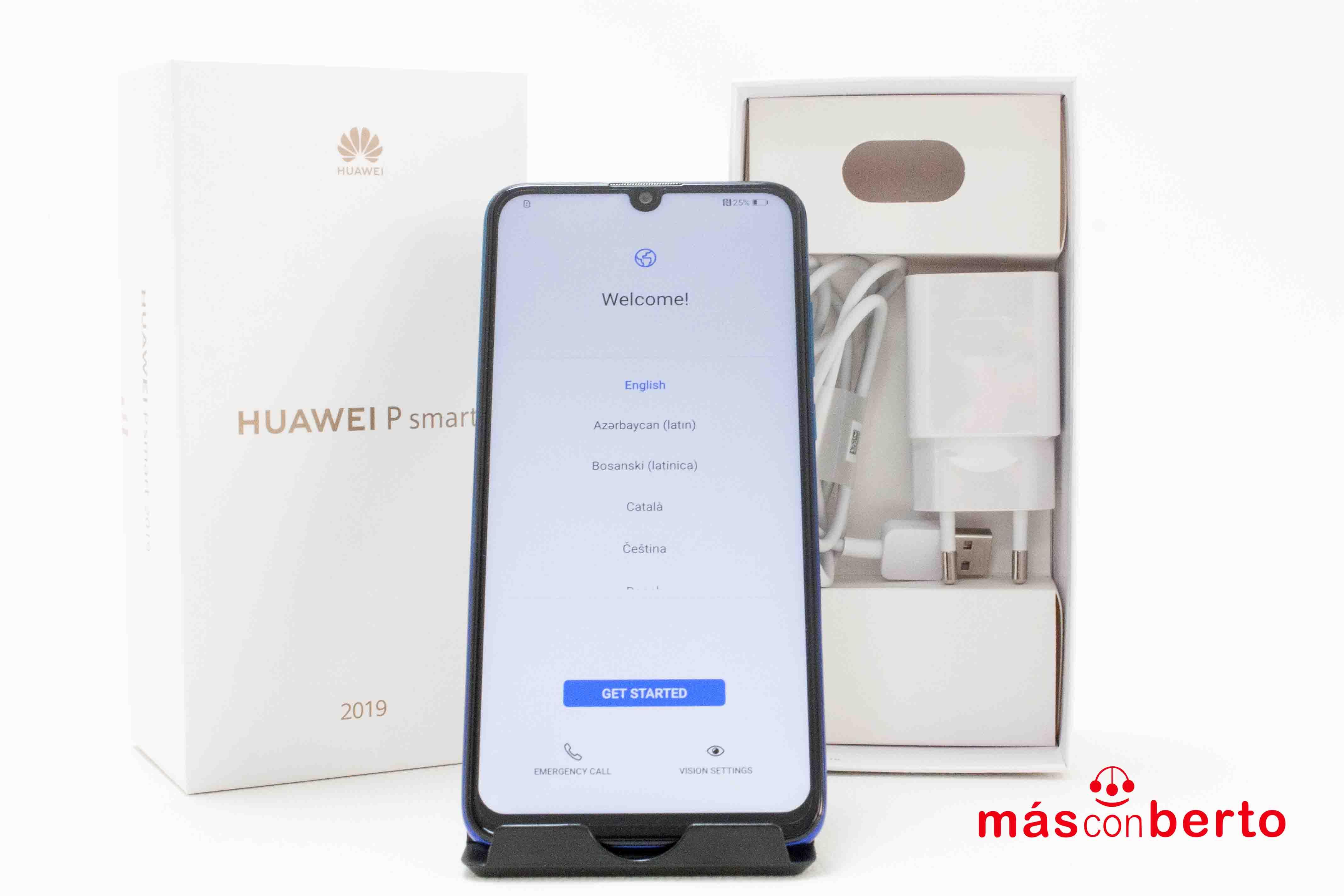 Móvil Huawei PSmart 2019 Azul
