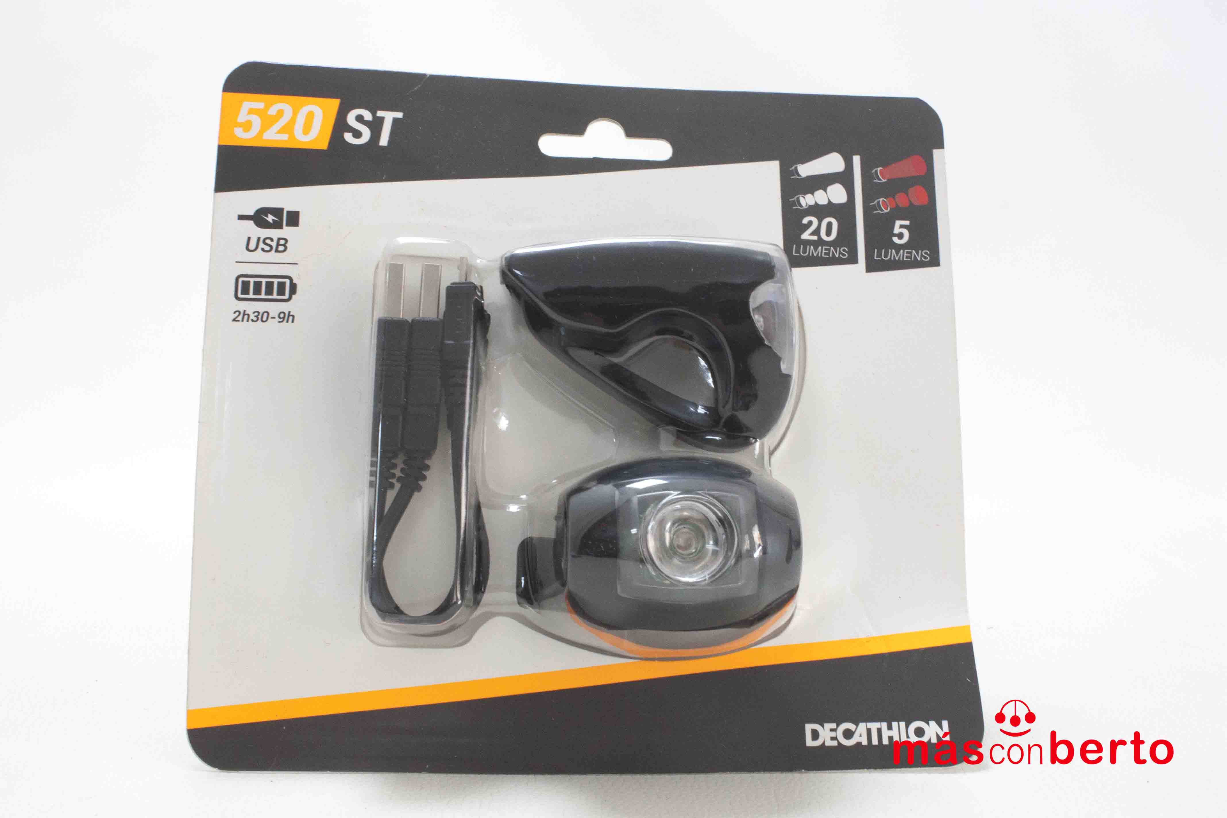 Kit luces bicicleta ST520