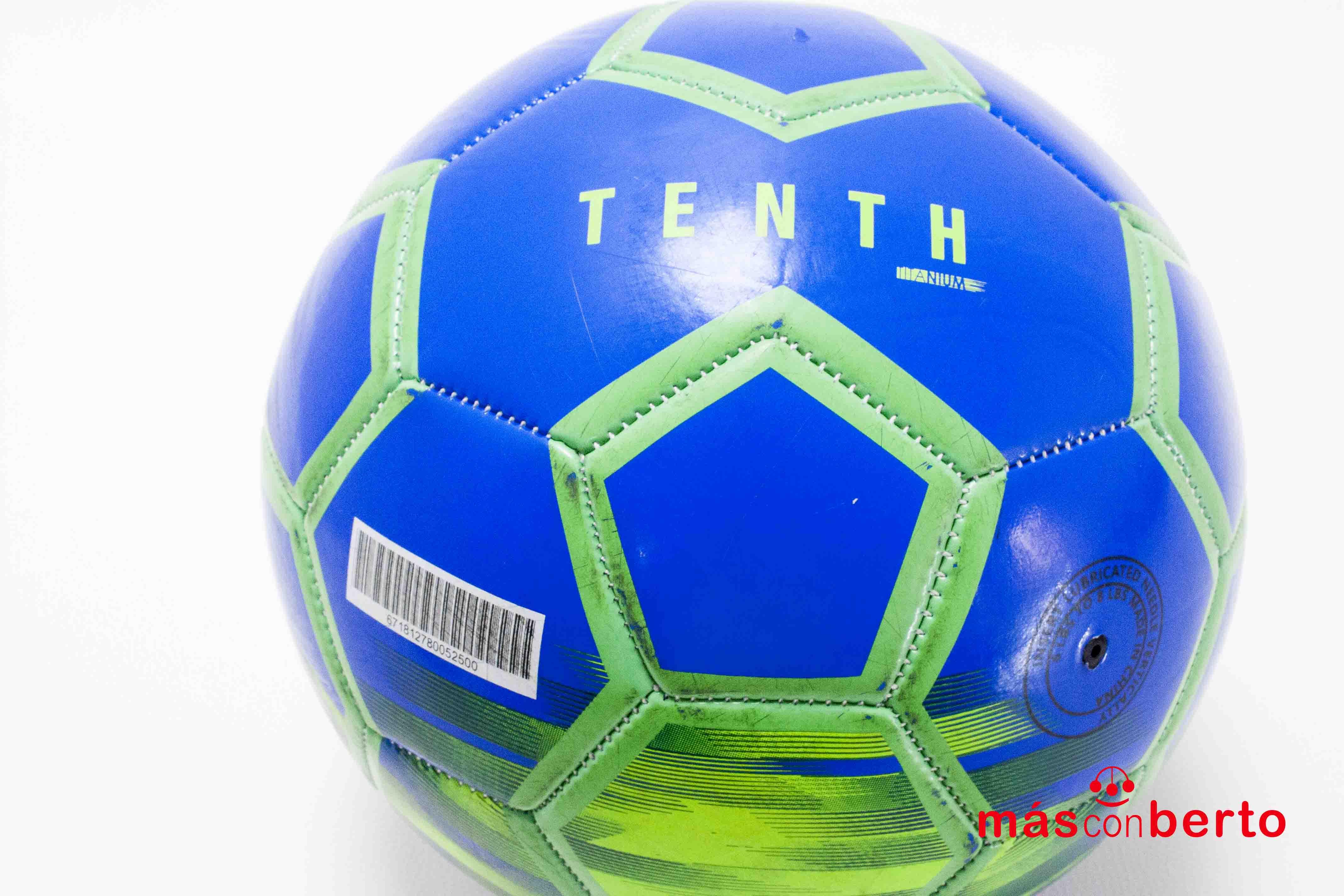 Balón de Fútbol Tenth Azul