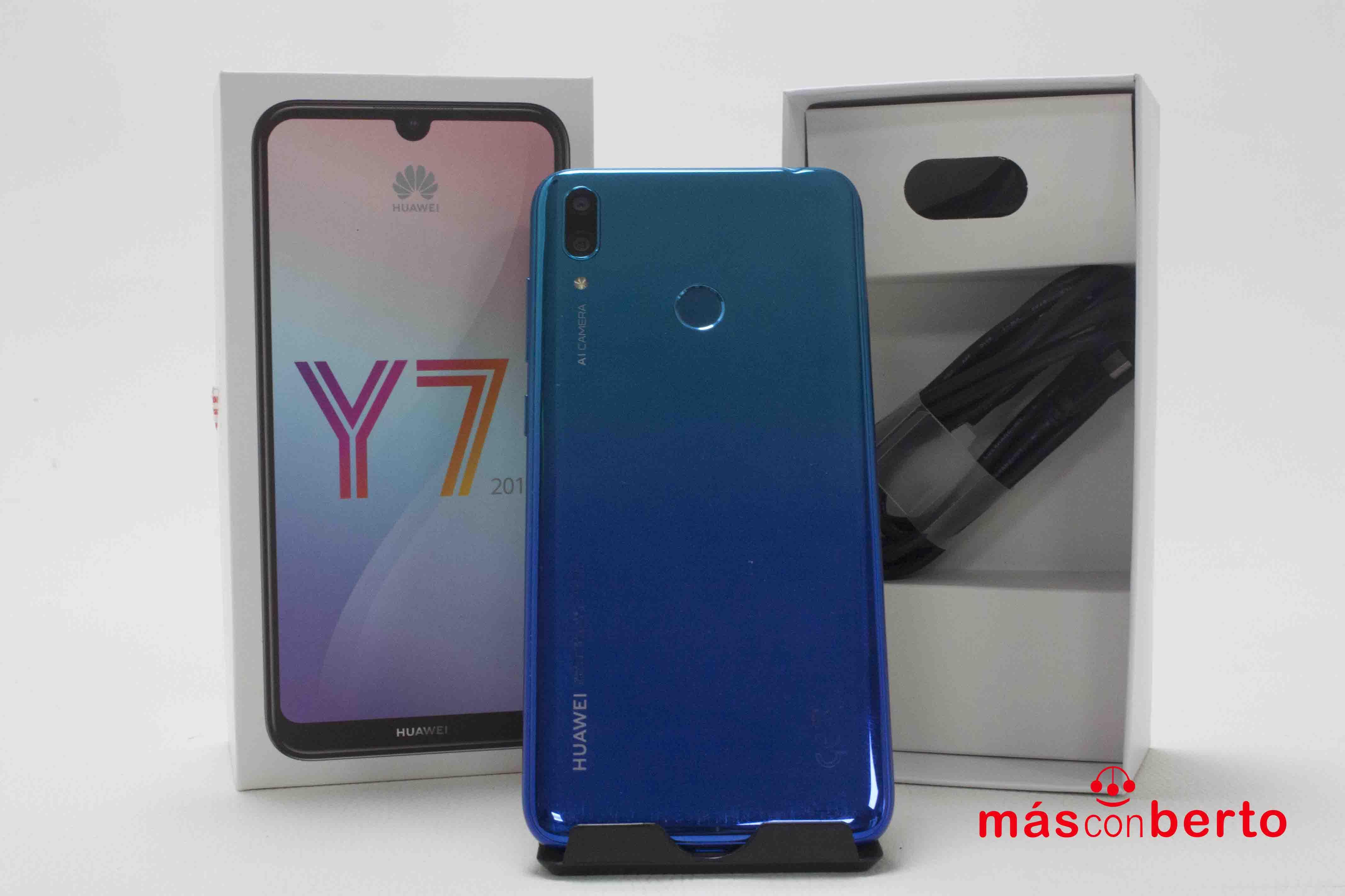 Móvil Huawei Y7 2019 32GB Azul