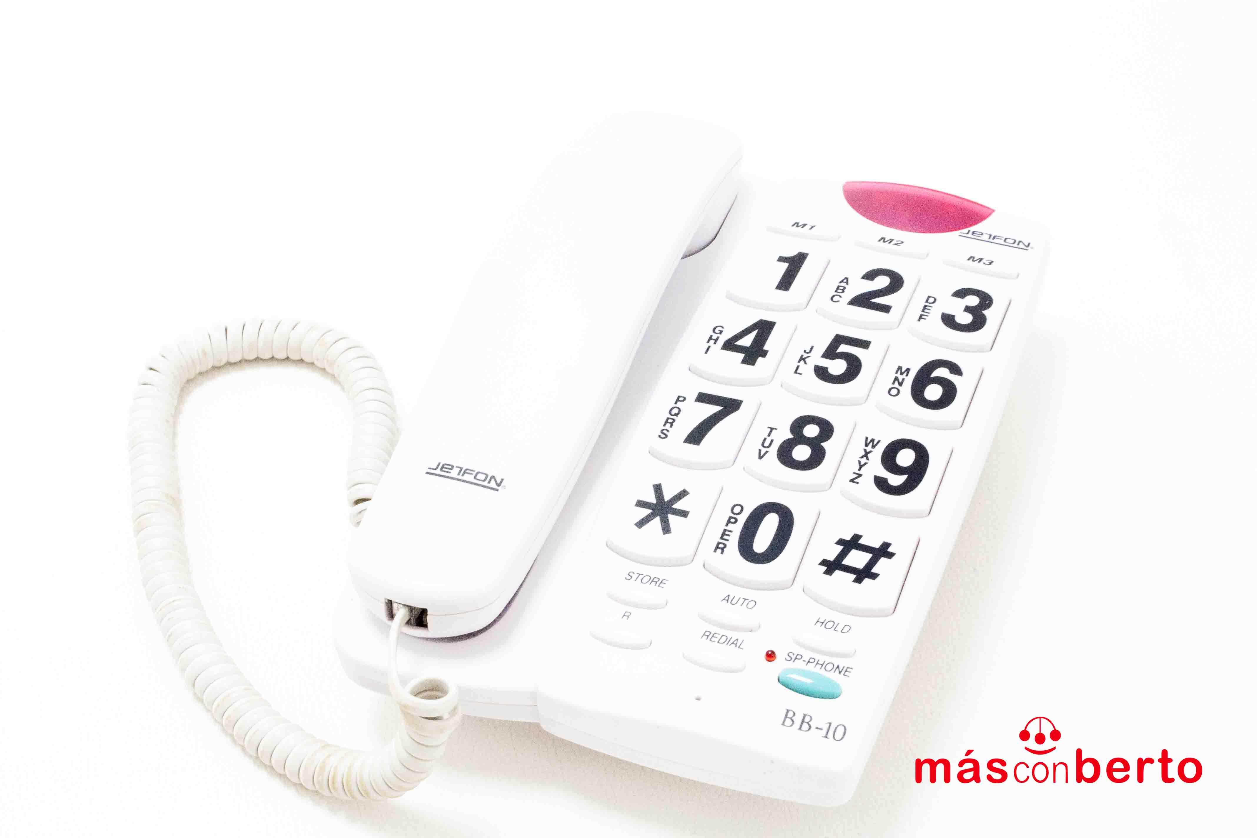 Teléfono Fijo Jetfon BB10