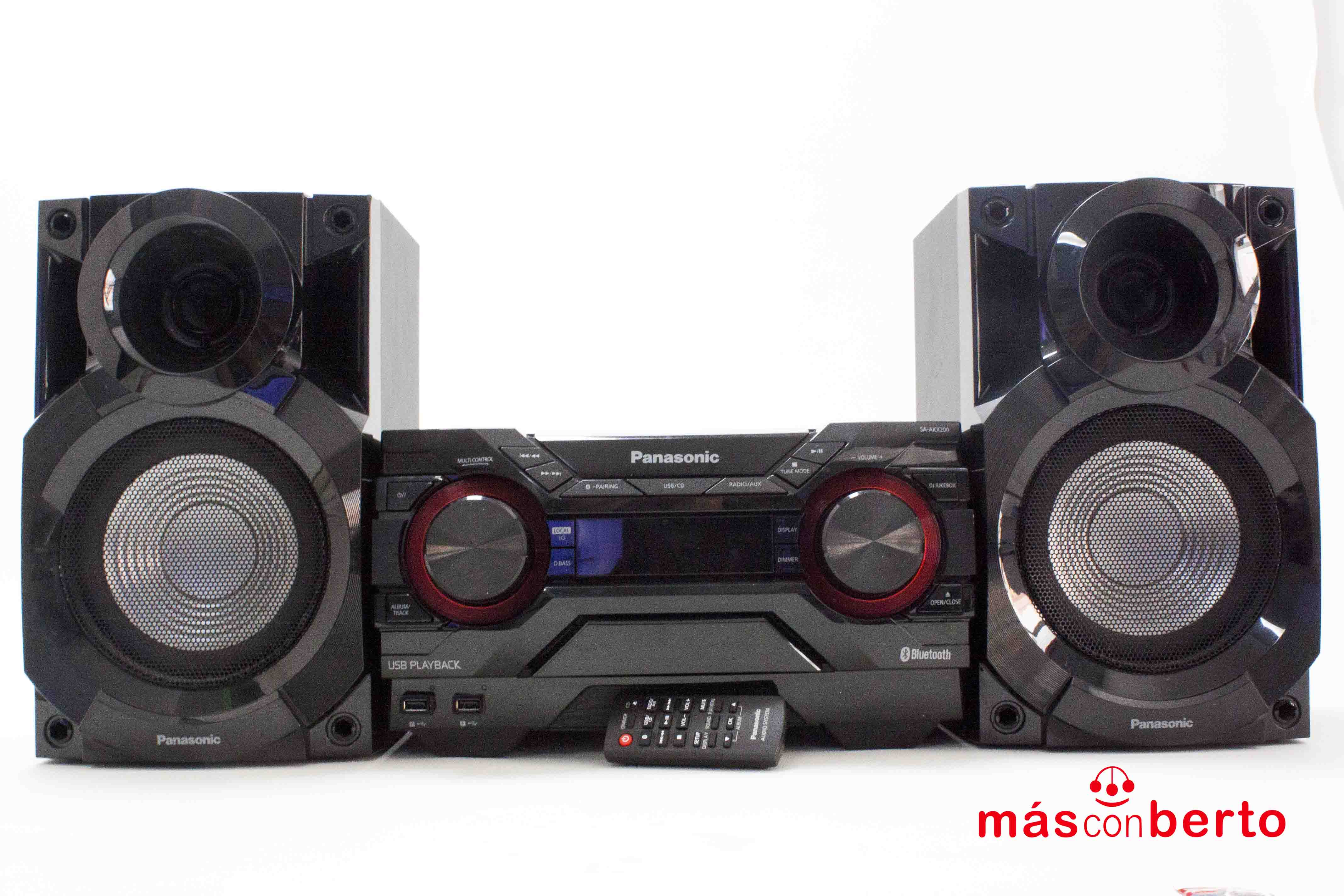 Minicadena Panasonic SA-AKX...