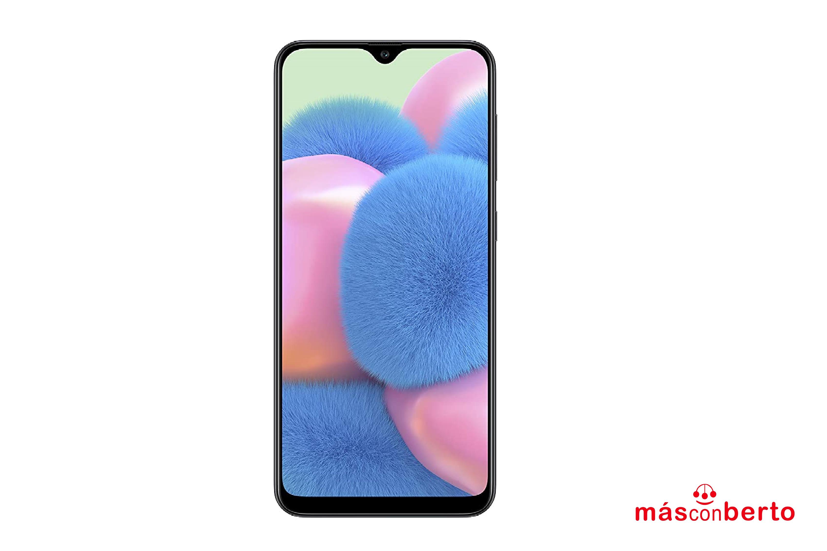 Móvil Samsung A30s 64Gb Negro