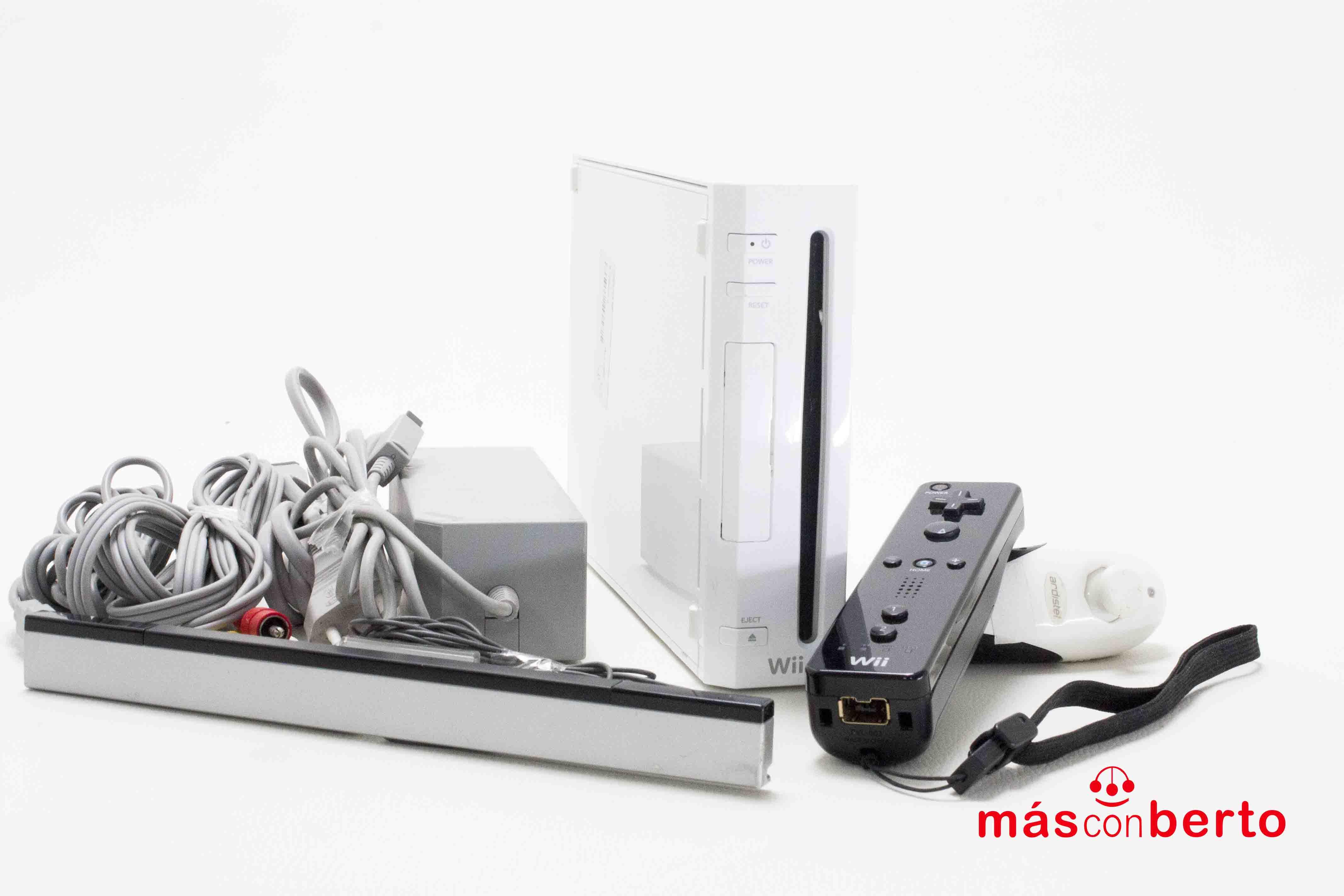Consola Nintendo Wii blanca