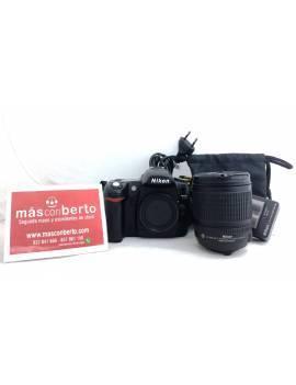 Cámara Nikon D80