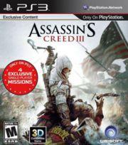 Juego PS3 Assassins Creed III