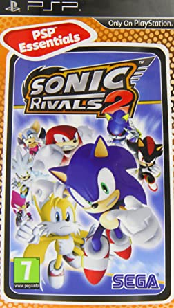 Juego PSP Sonic rivals 2