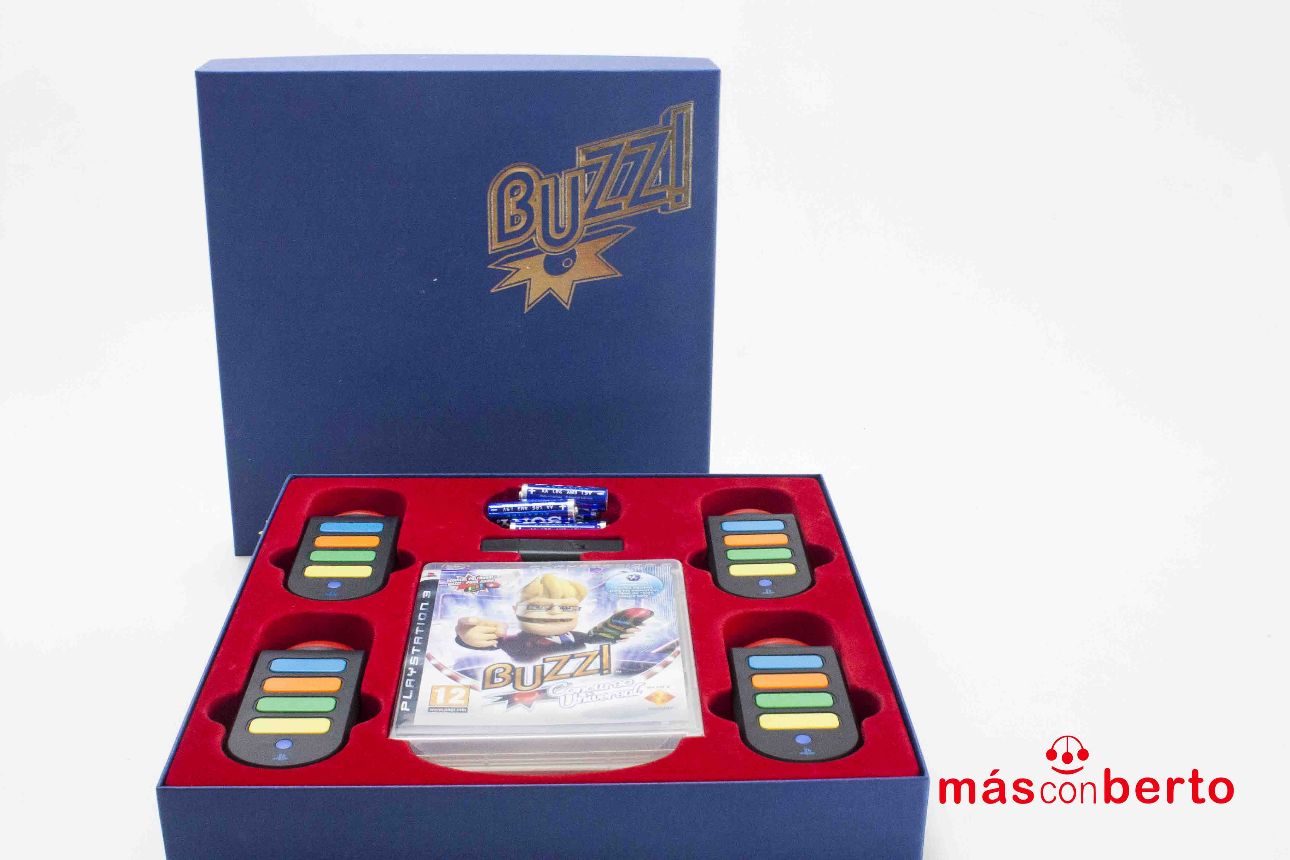 Juego PS3 Buzz+Mandos...