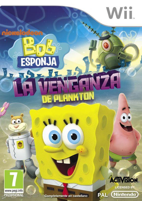 Juego Wii Bob Esponja La...