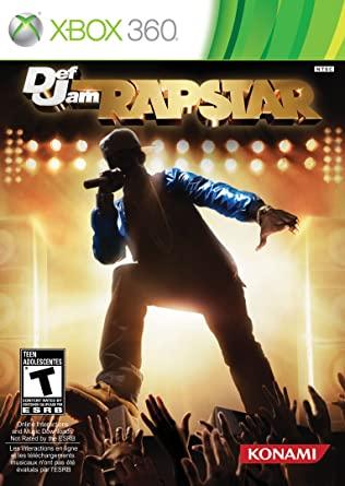 Juego XBox 360 Def Jam Rapstar