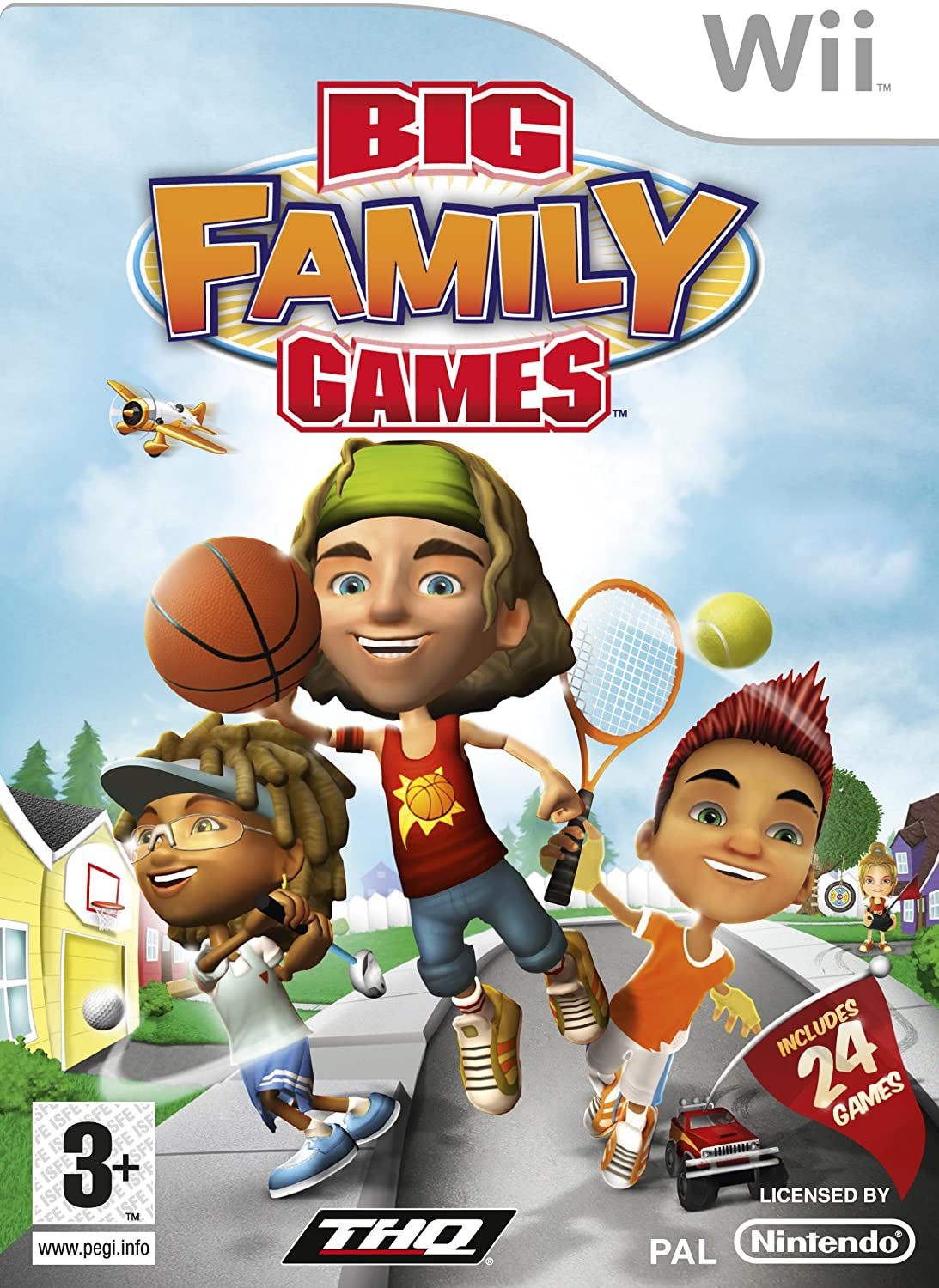 Juego Wii Big Family Games