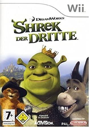 Juego Wii Shrek Tercero