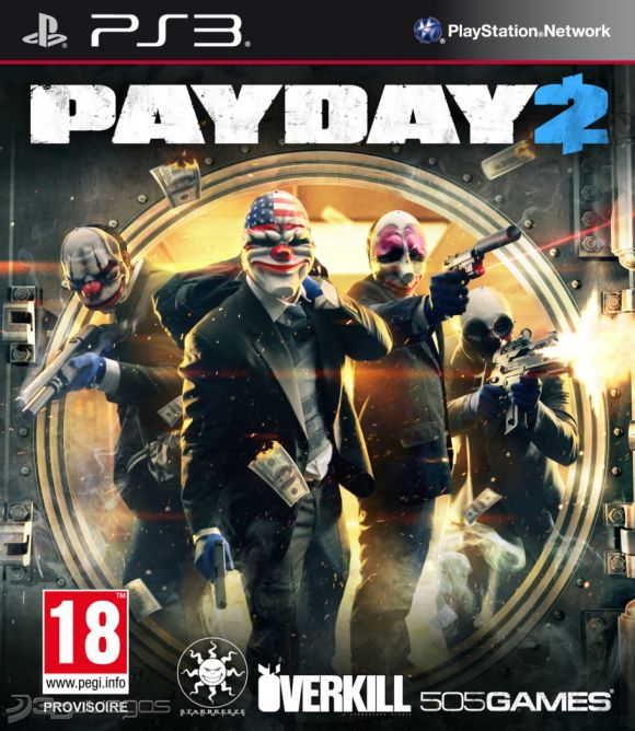 Juego PS3 Pay Day 2