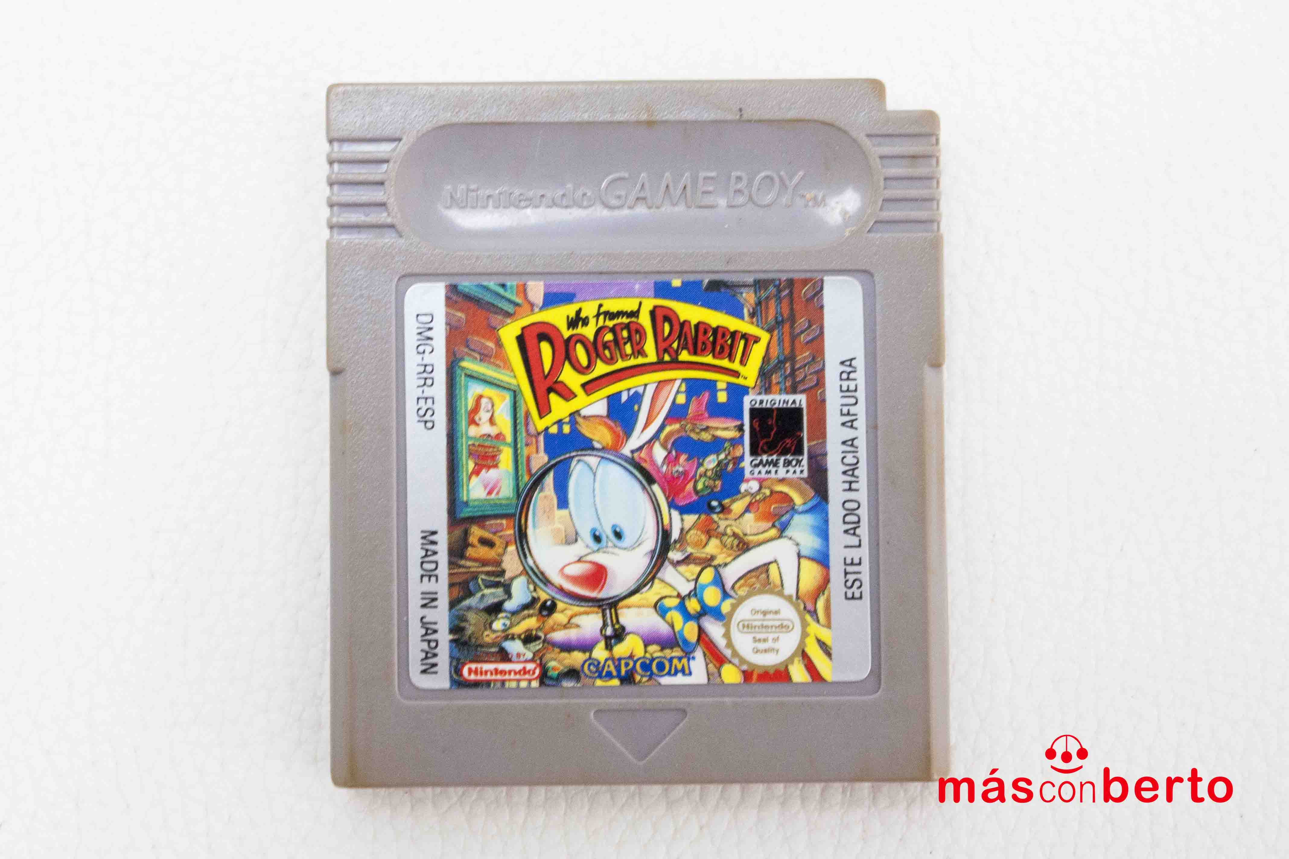Juego Game Boy Roger Rabbit