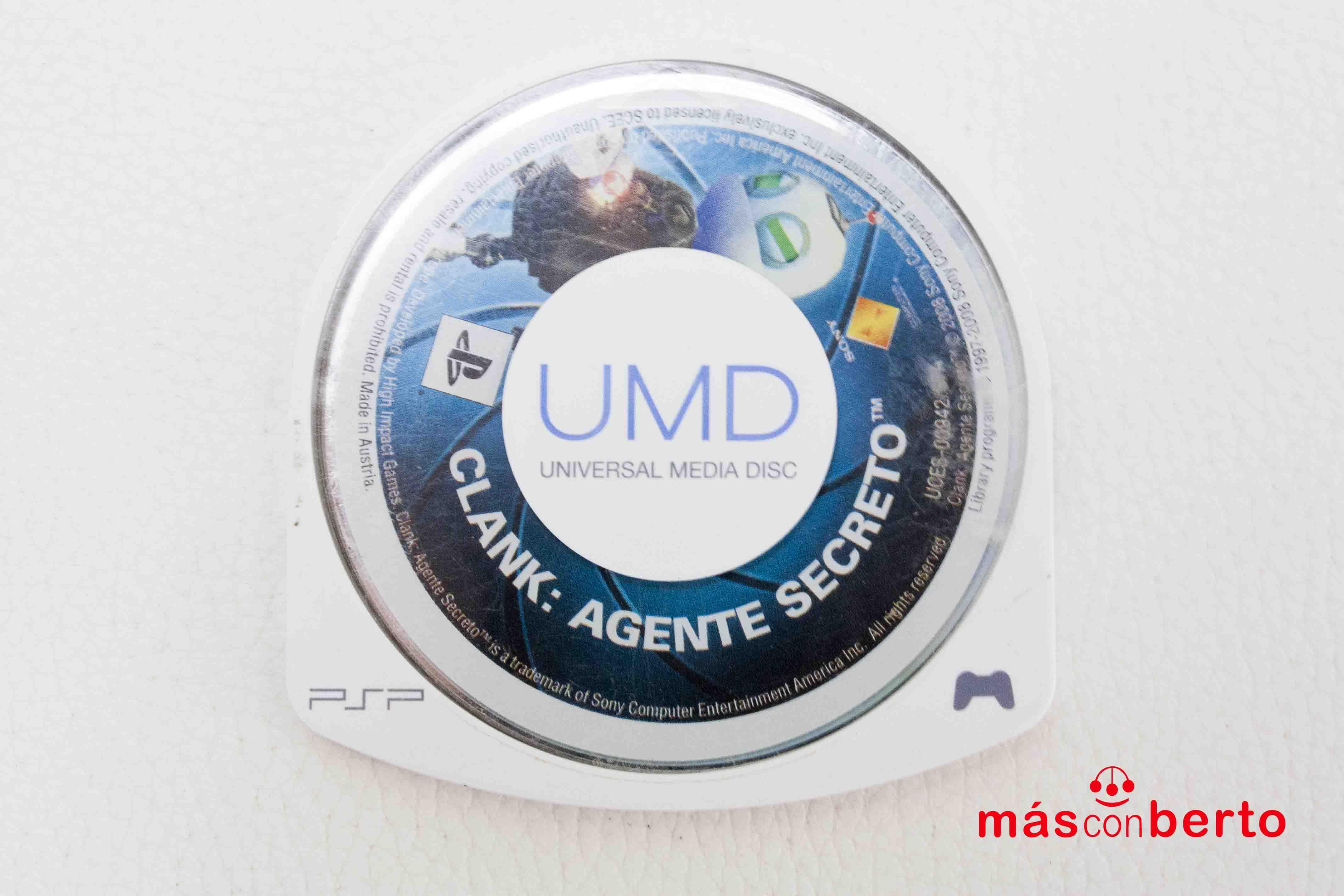 Juego PSP Clank Agente Secreto