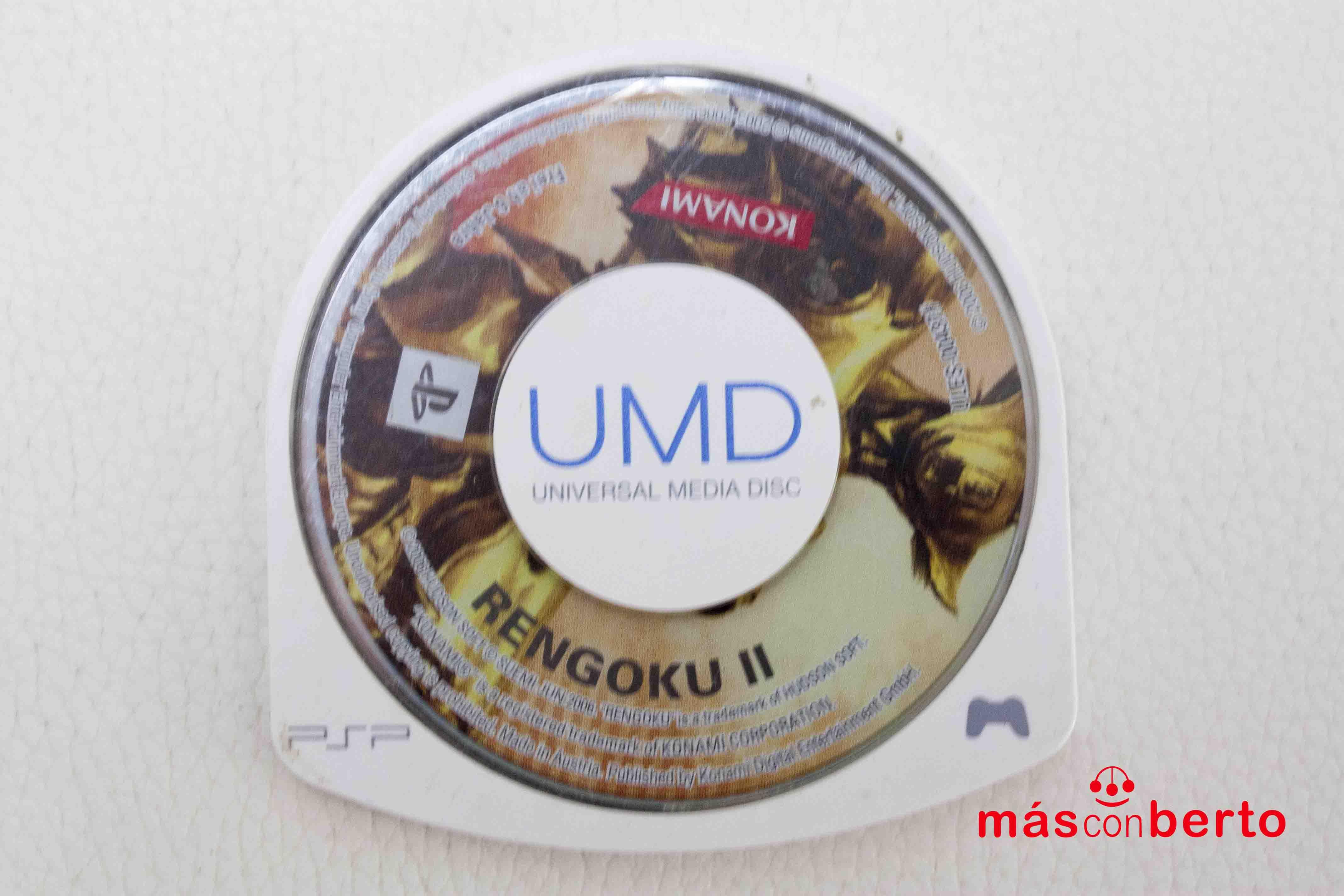 Juego PSP Rengoku II