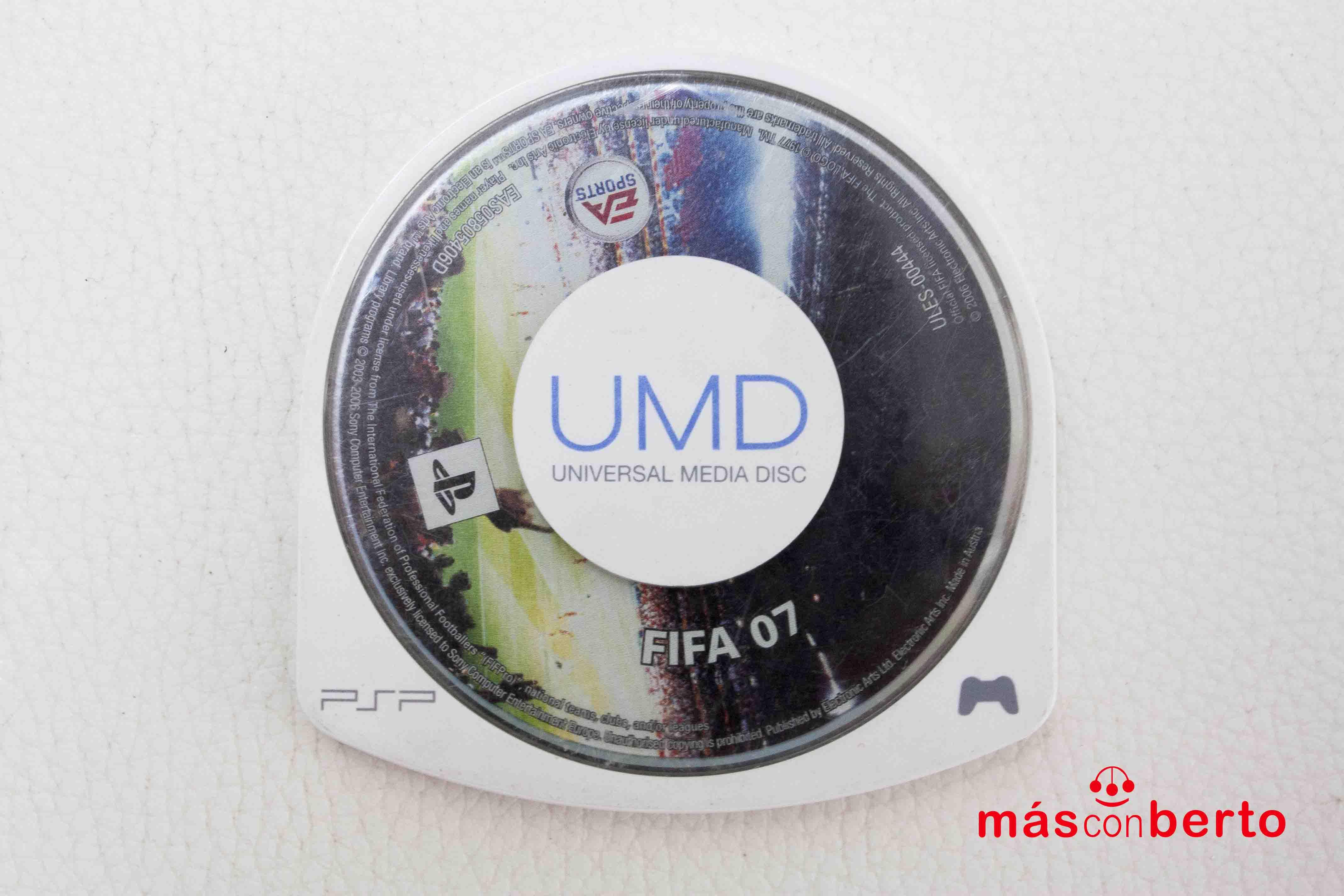 Juego PSP Fifa 07