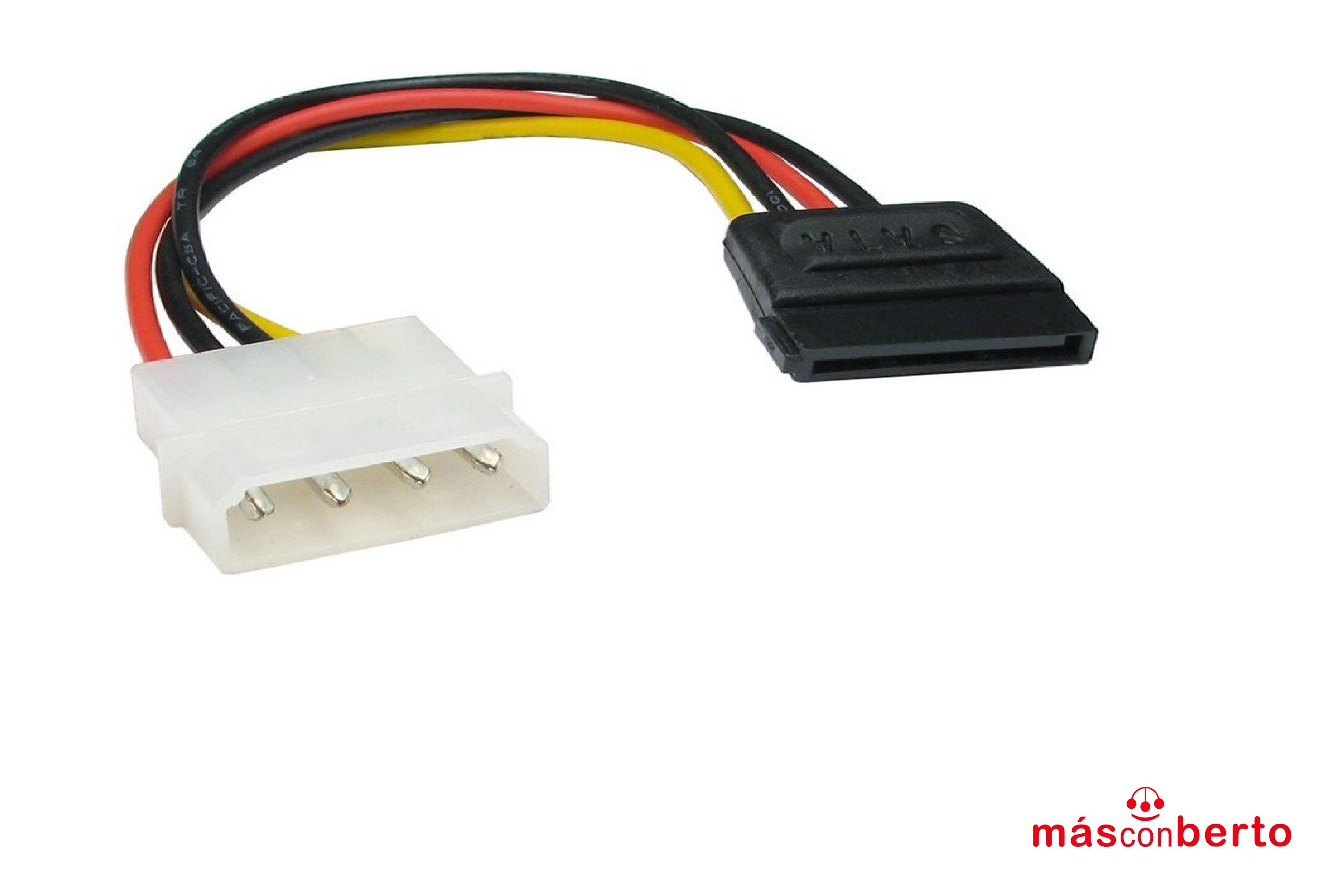 Cable alimentación Serial...