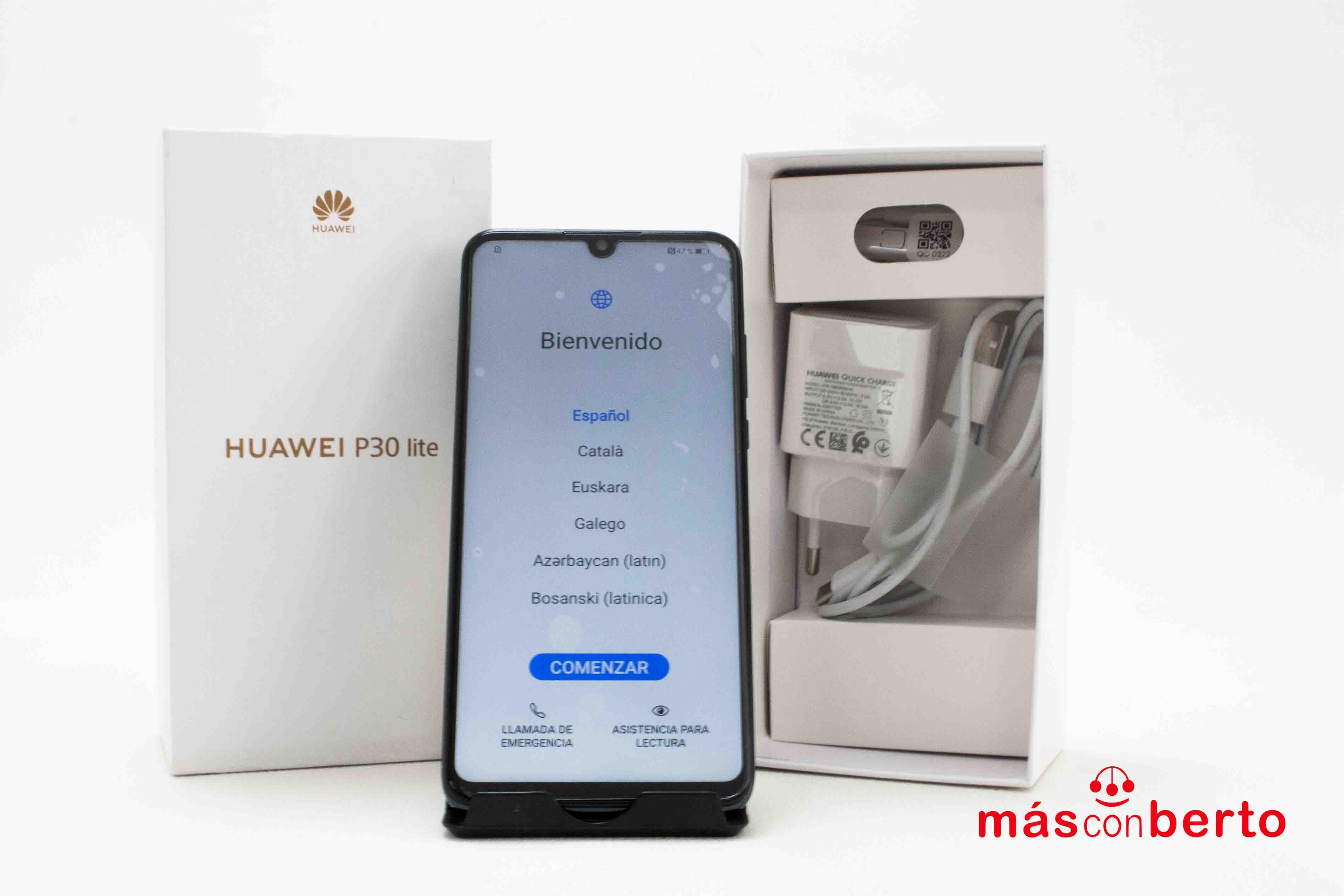 Móvil Huawei P30 lite 128Gb...