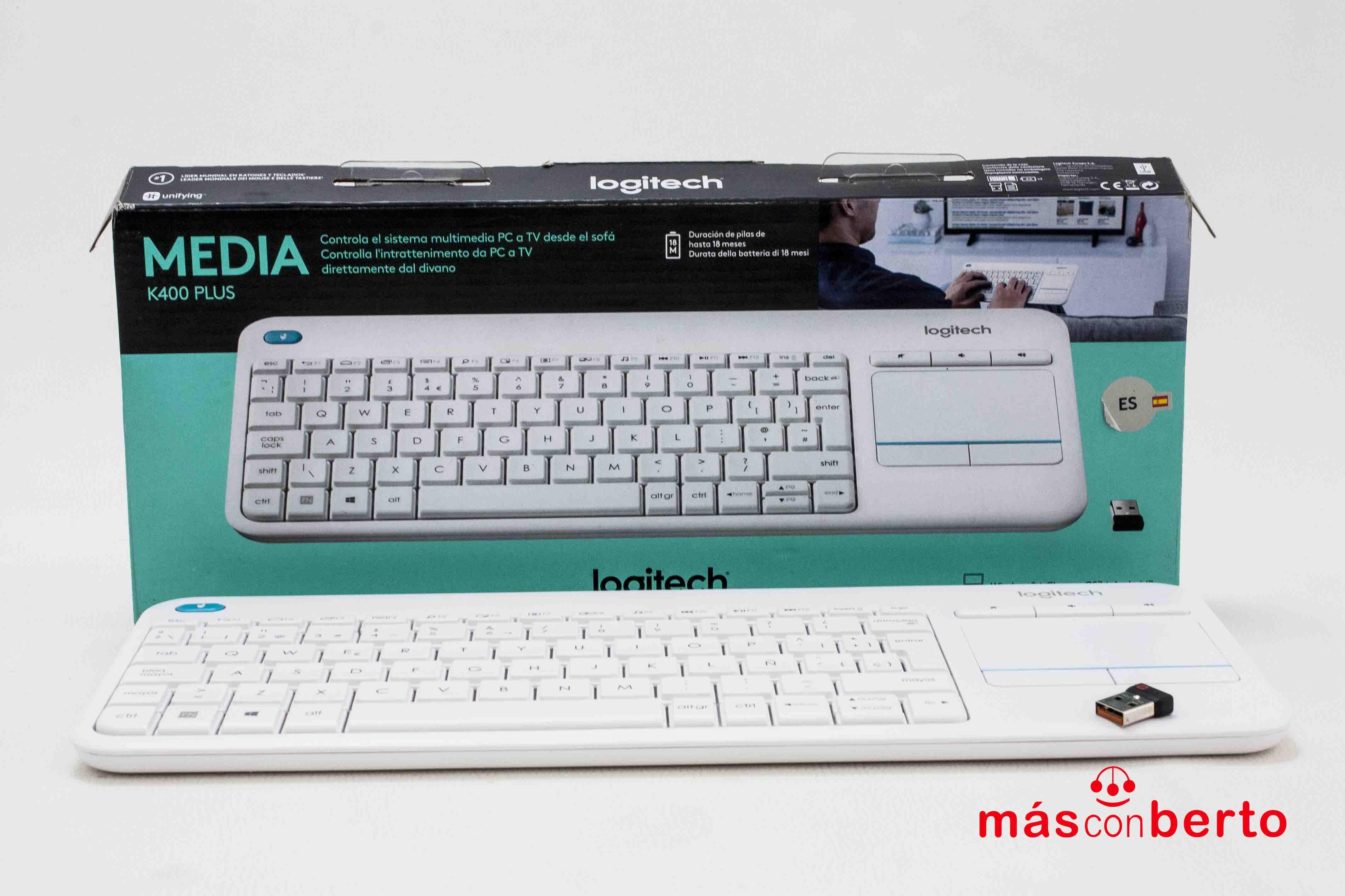 Teclado y Touchpad...