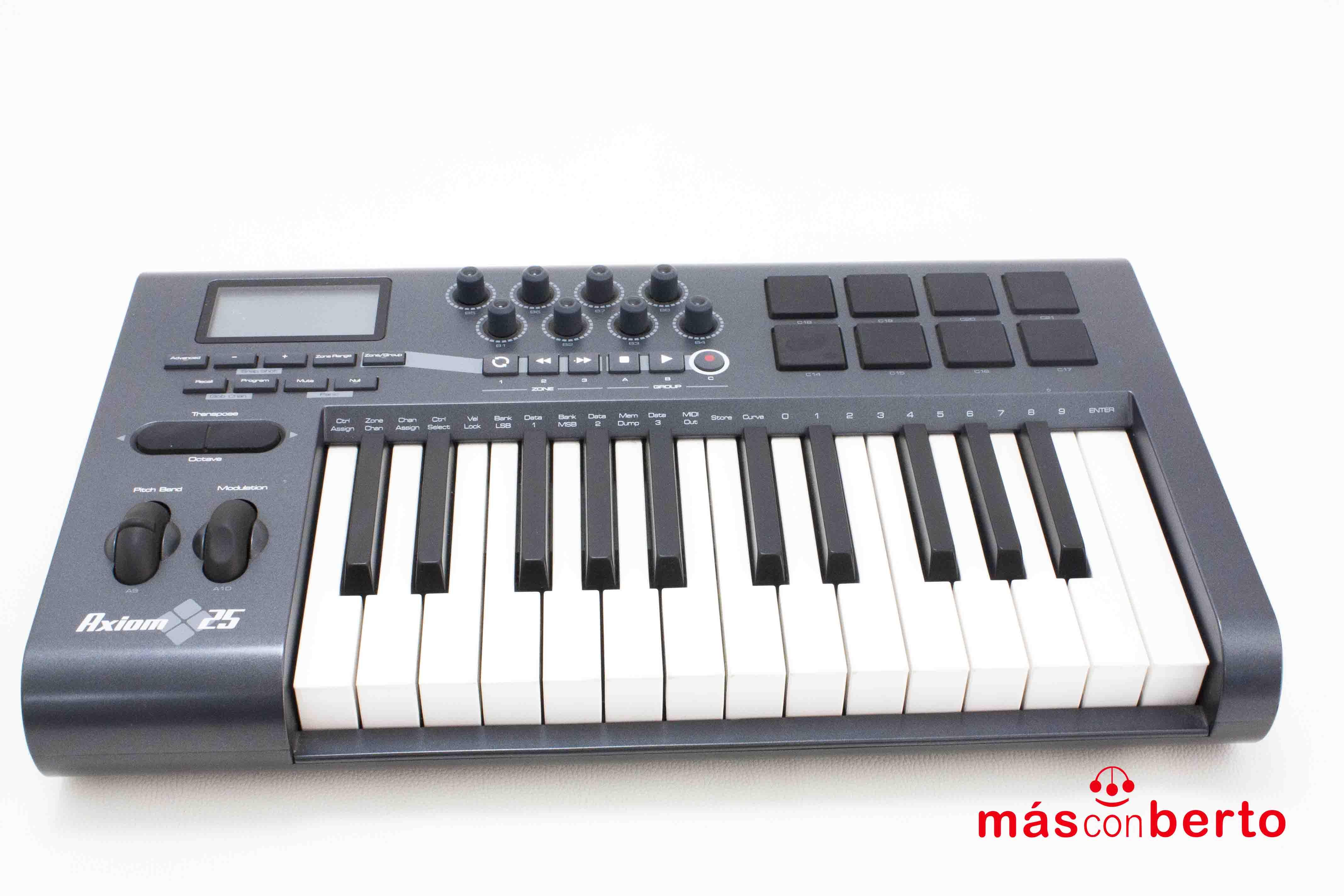 Teclado controlador M-Audio...
