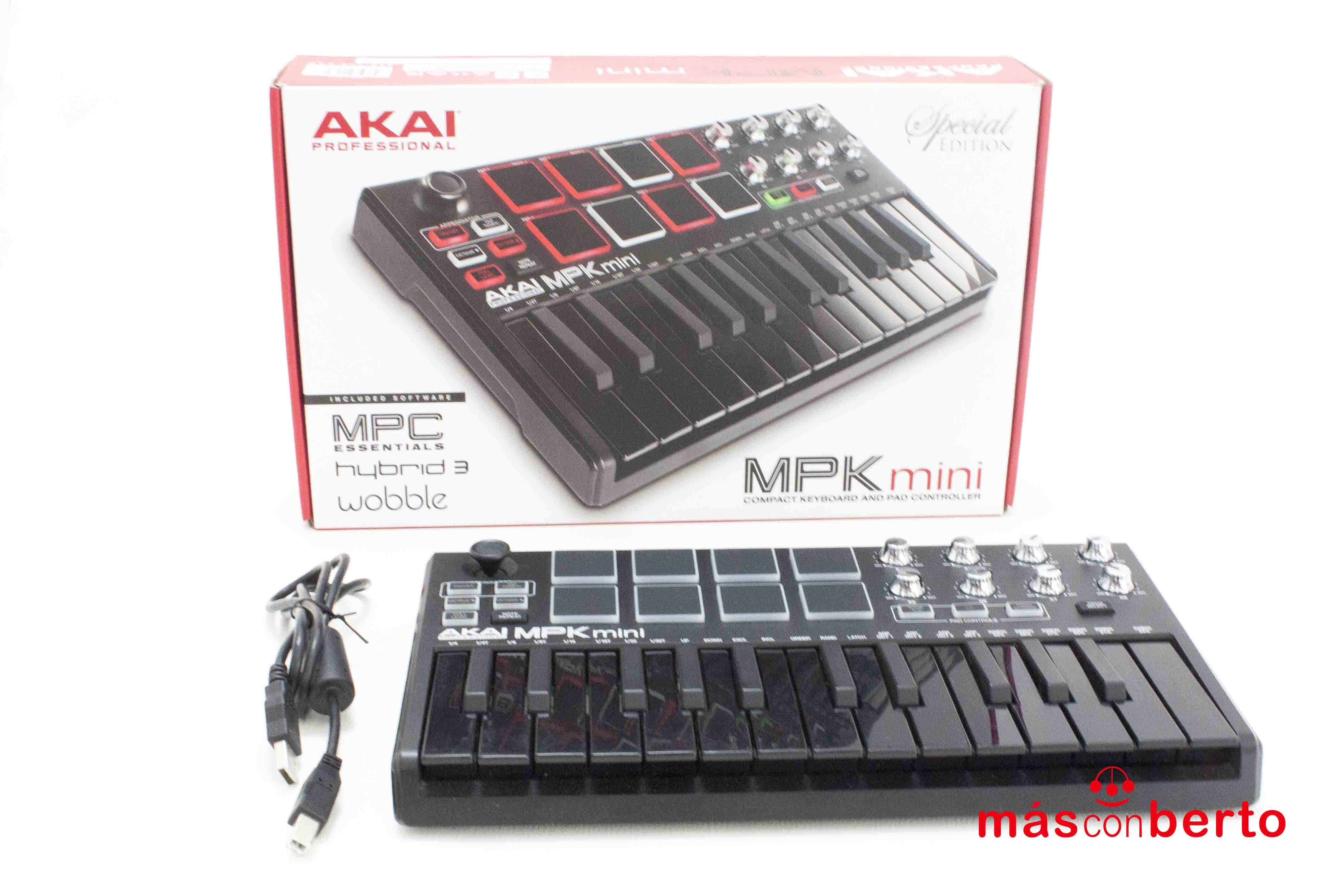 Teclado Controlador MIDI...