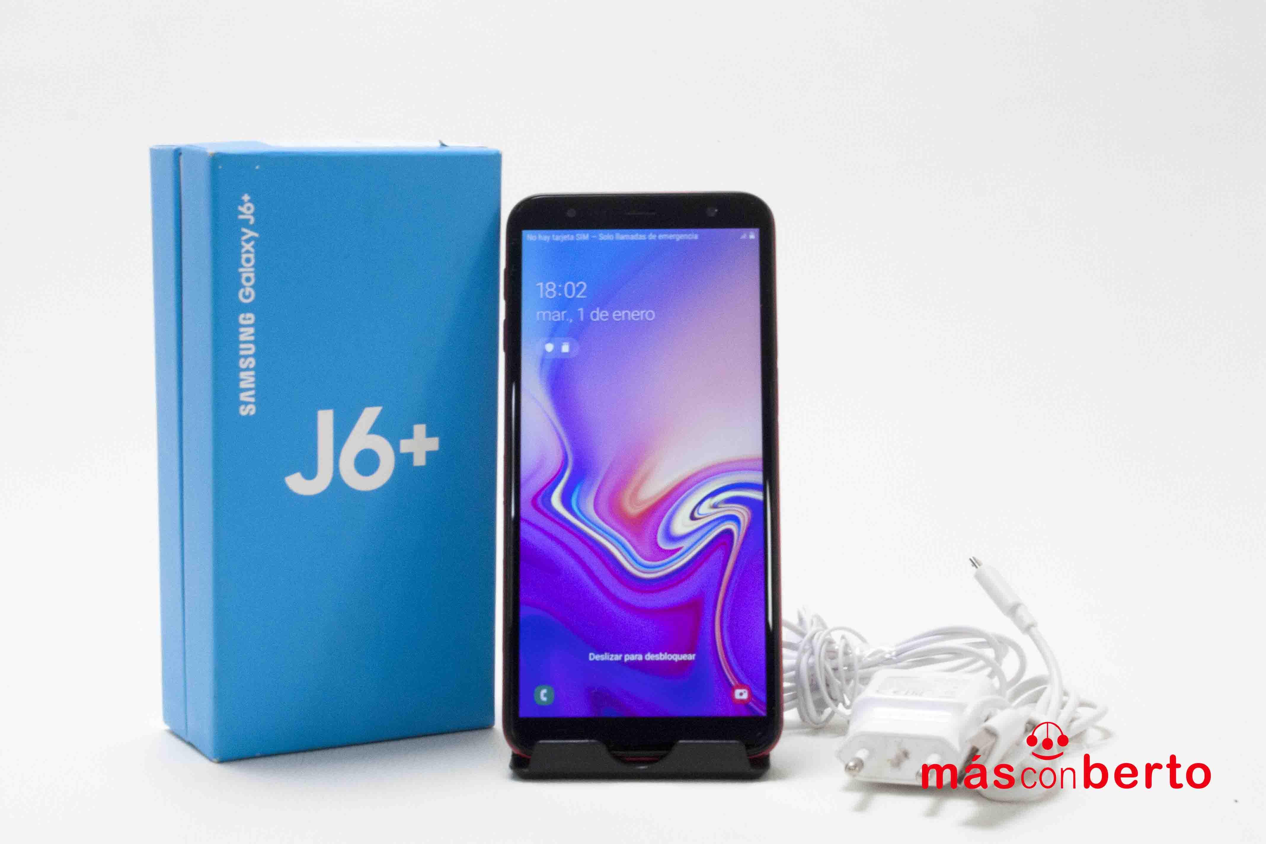 Móvil Samsung J6+ 32Gb Rojo