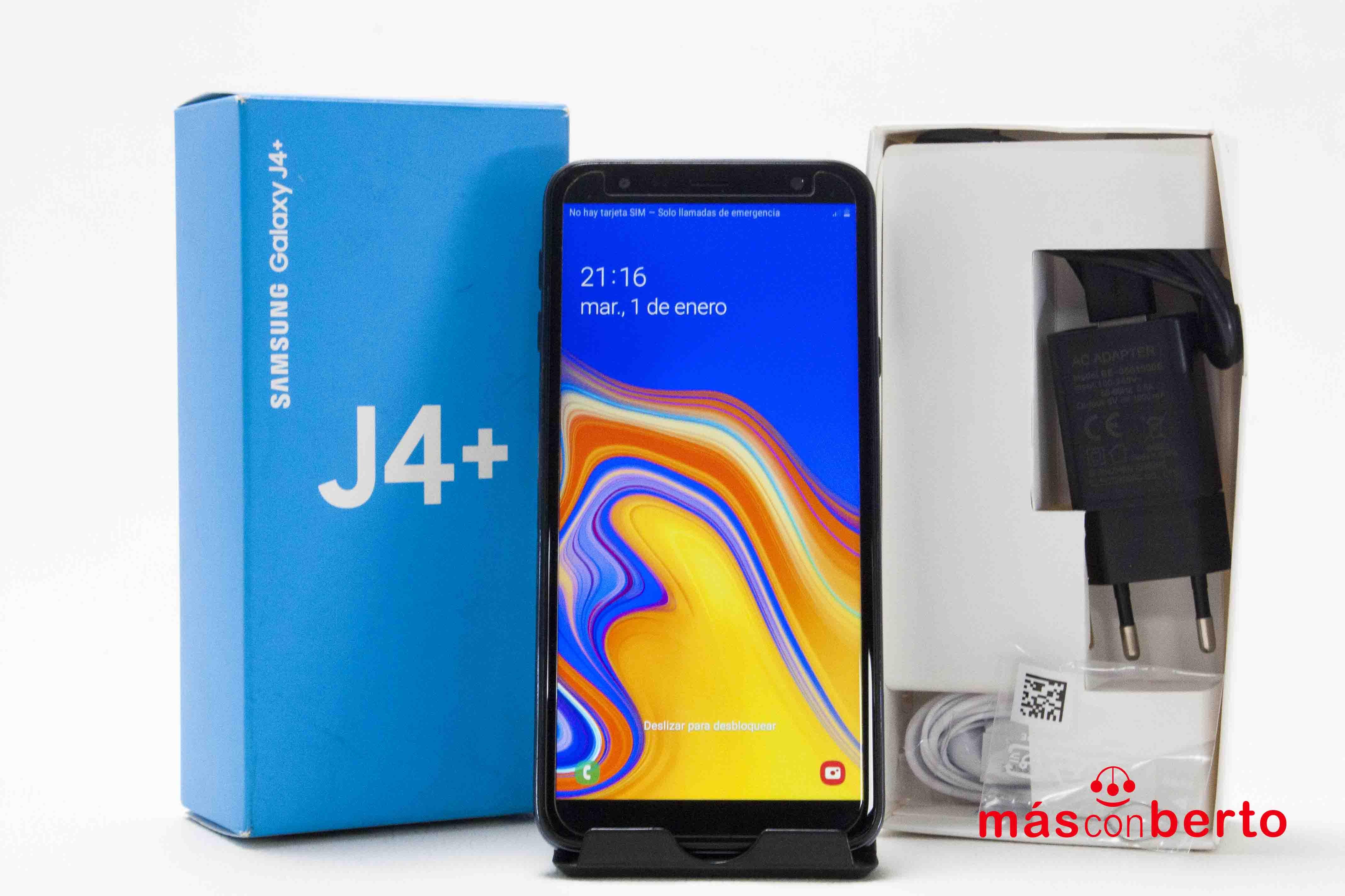Móvil Samsung Galaxy J4+...