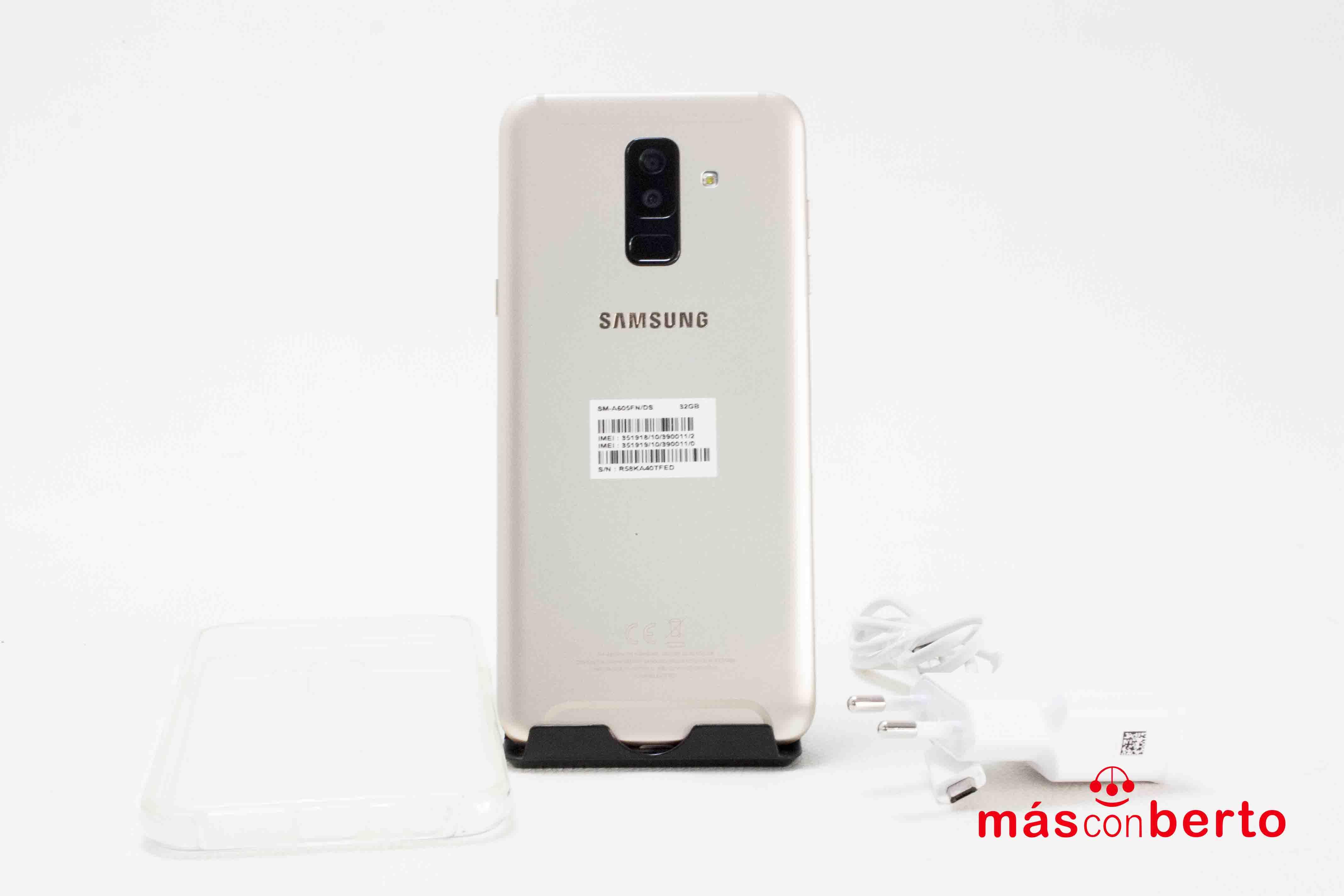 Móvil Samsung Galaxy A6+...