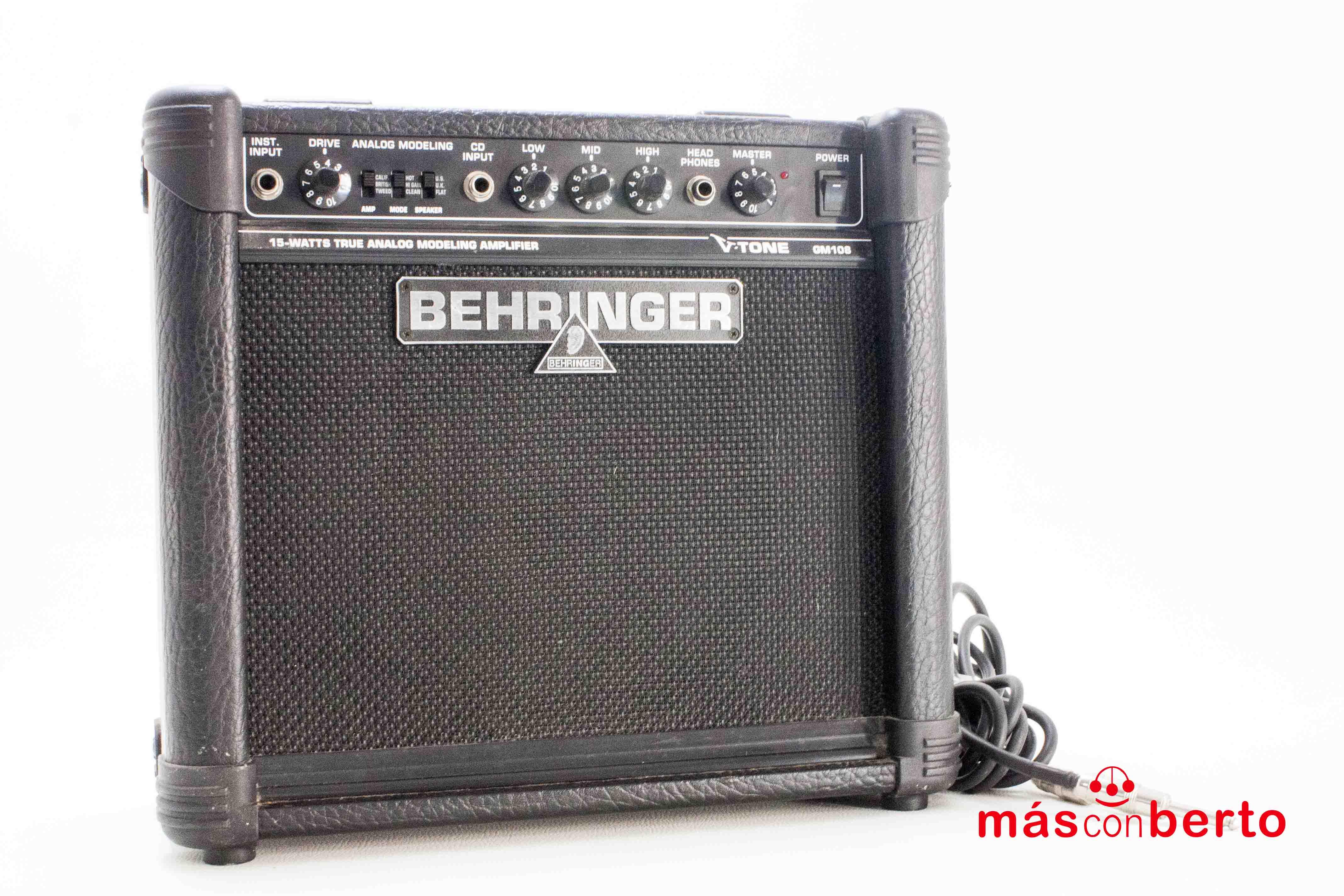 Amplificador BEHRINGER...