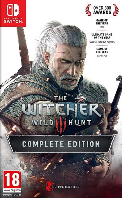 Juego Switch The Witcher...