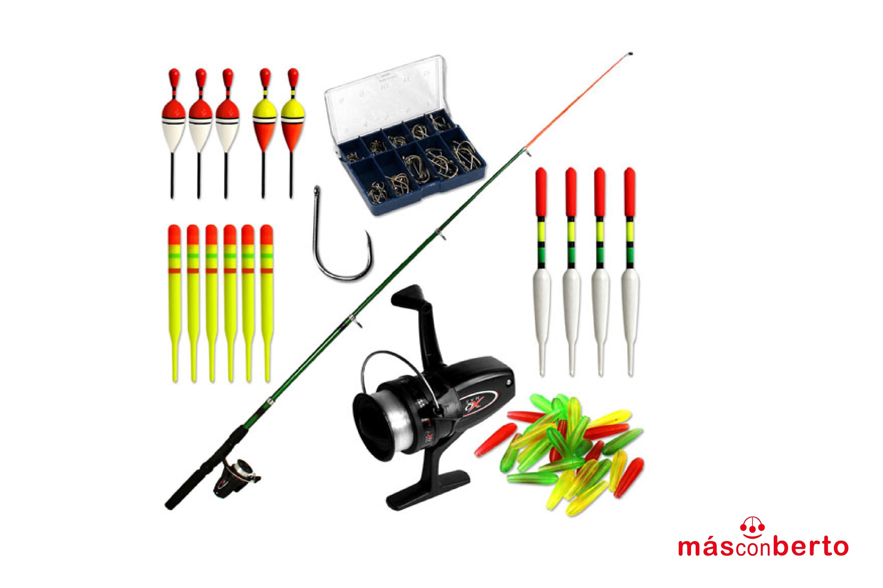 Set de pesca con accesorios