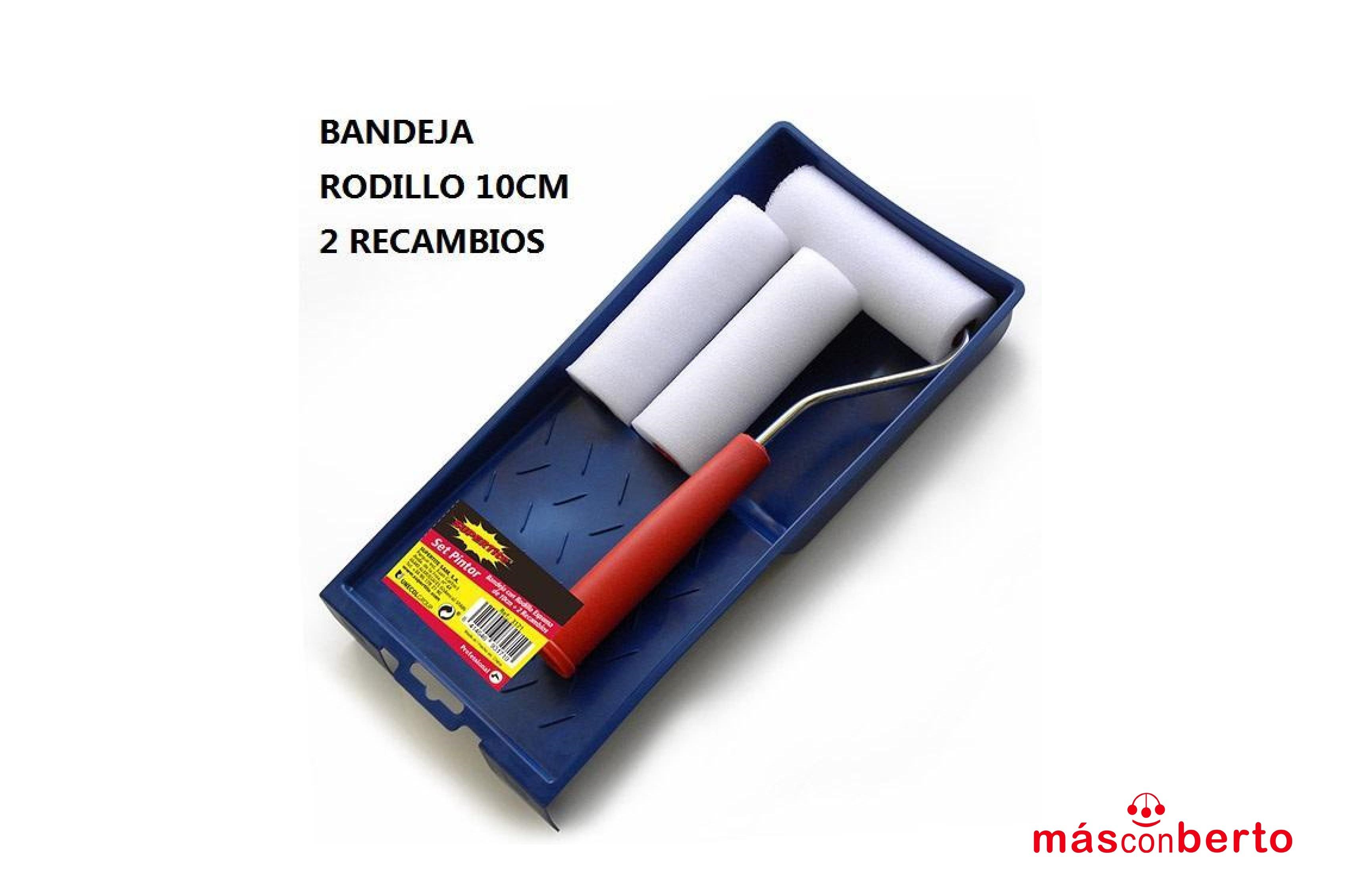 Set pintor Rodillo+Bandeja...