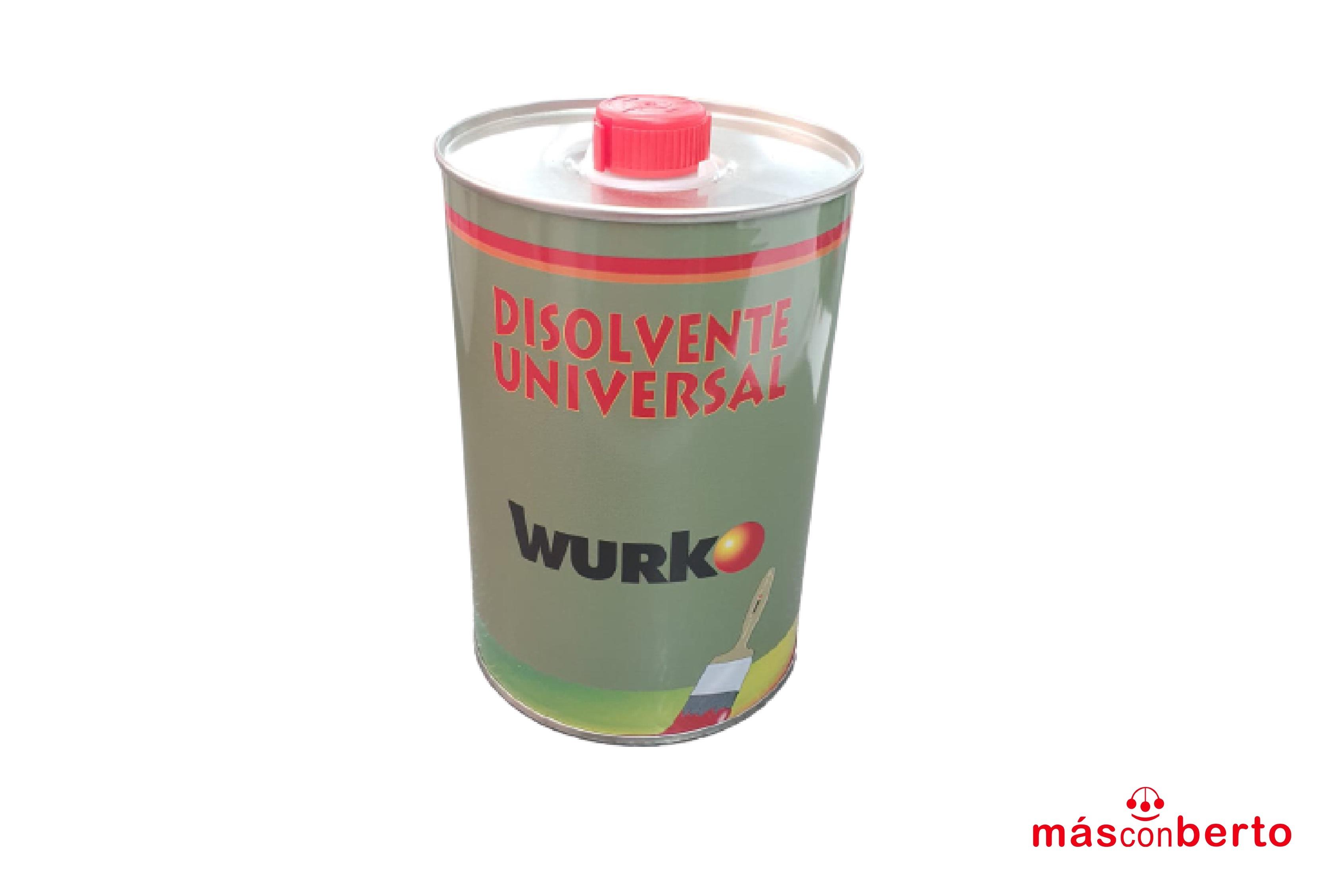 Disolvente universal 1L Wurko