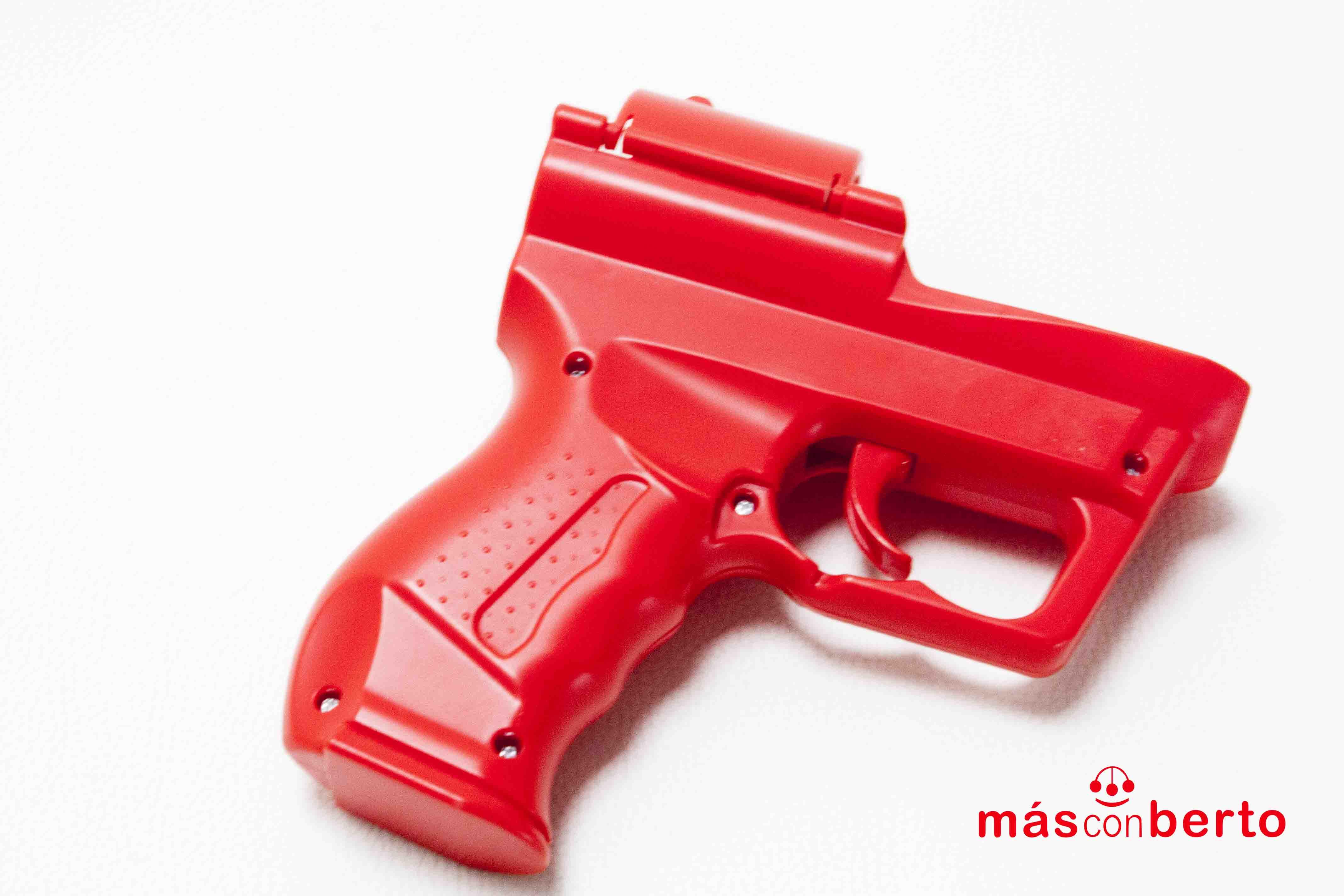 Pistola mando wii Rojo