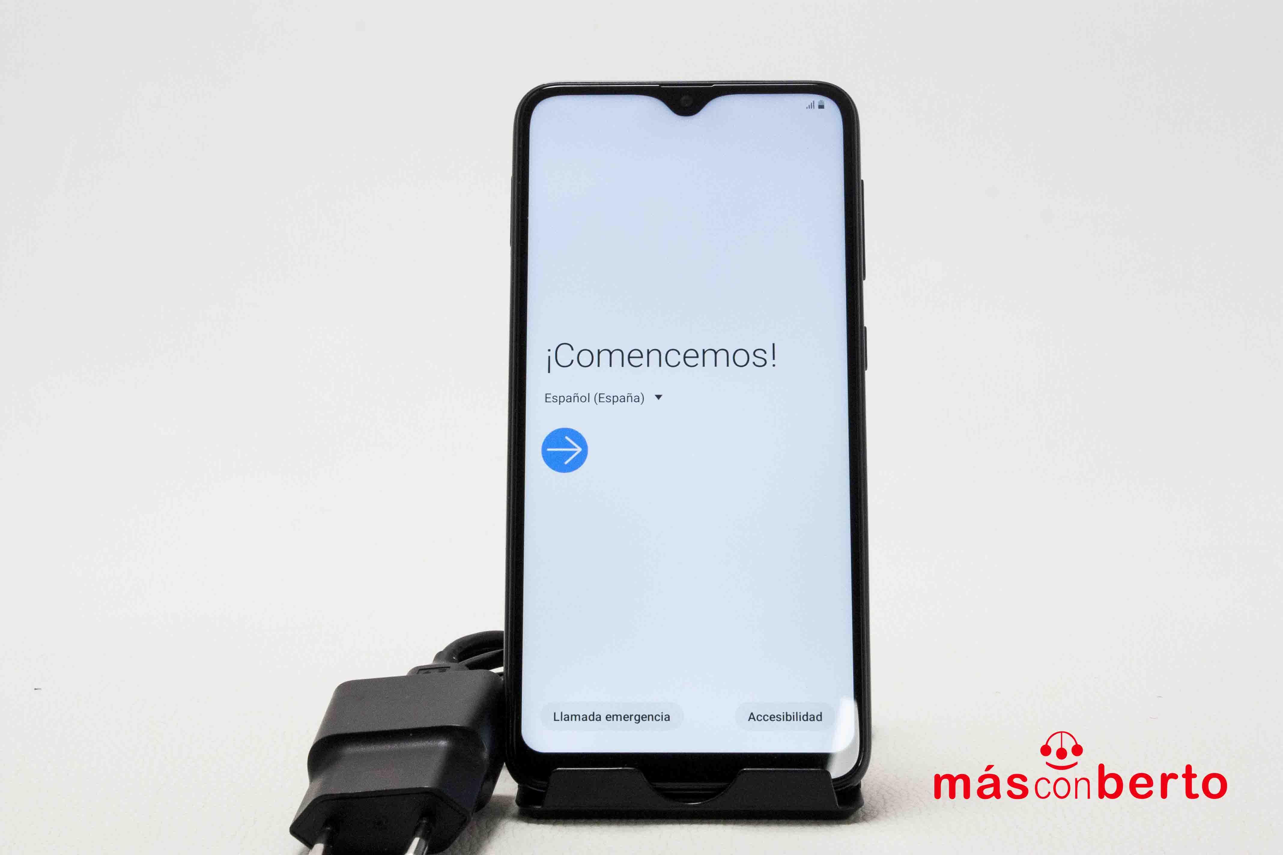Móvil Samsung Galaxy A10...