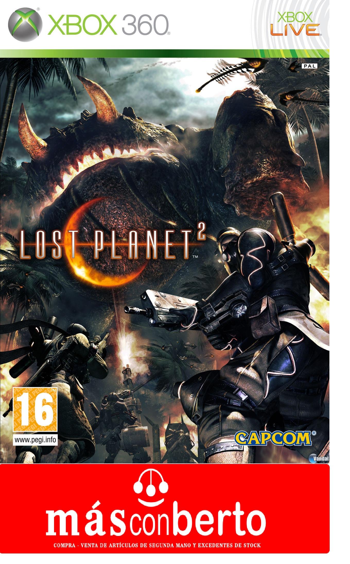 Juego Xbox 360 Lost Planet 2