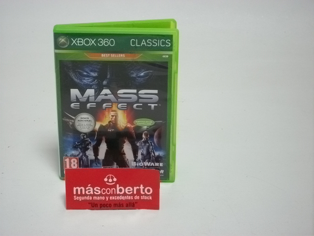Juego Xbox 360 Mass Effect