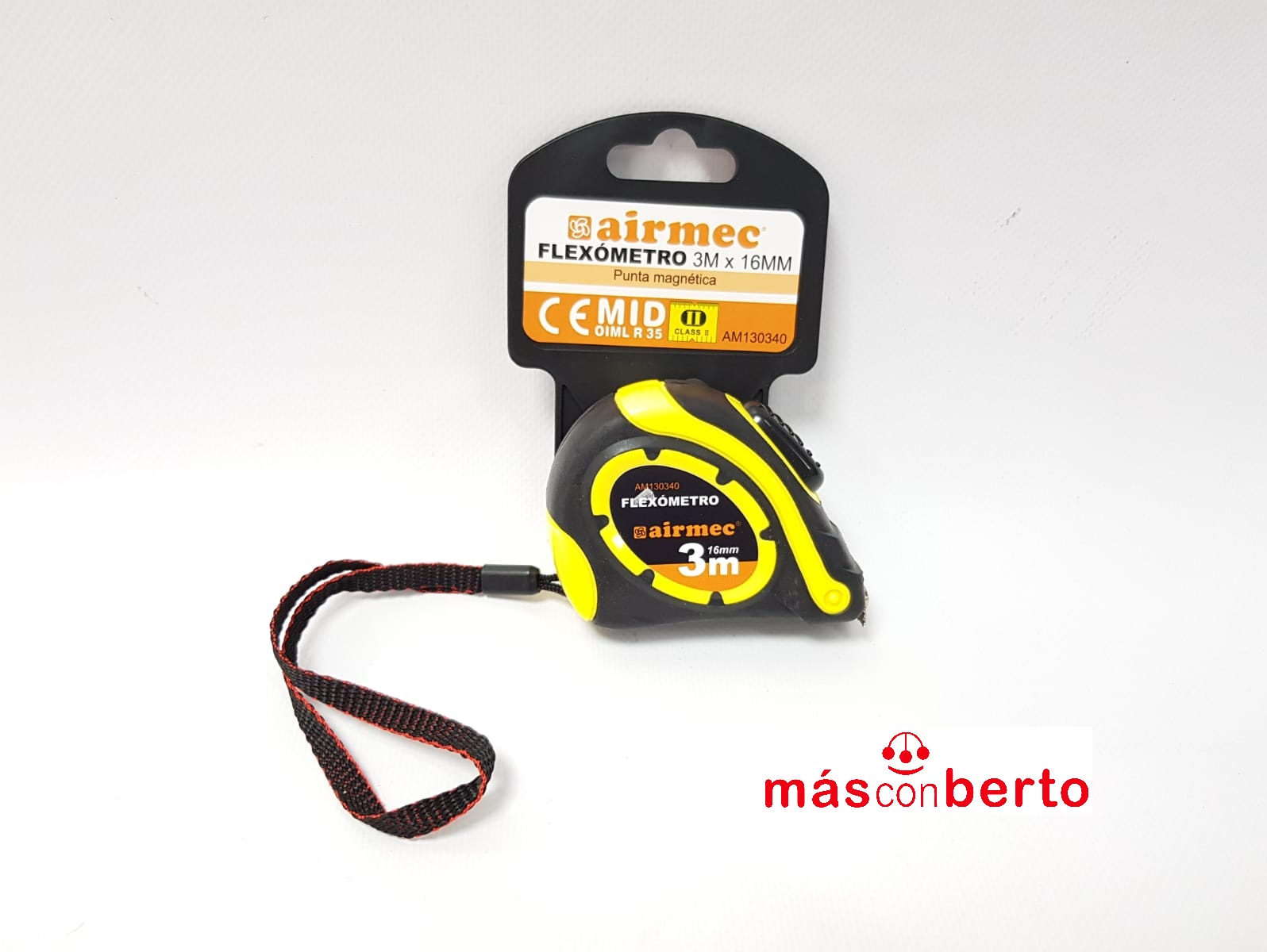 Flexómetro 3M x 16MM AM130340
