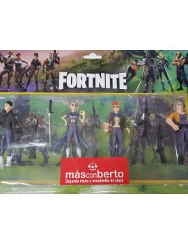 Pack 4 Figuras Fortnite
