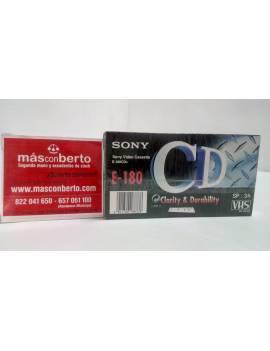 Pack de 2 cintas VHS sony...