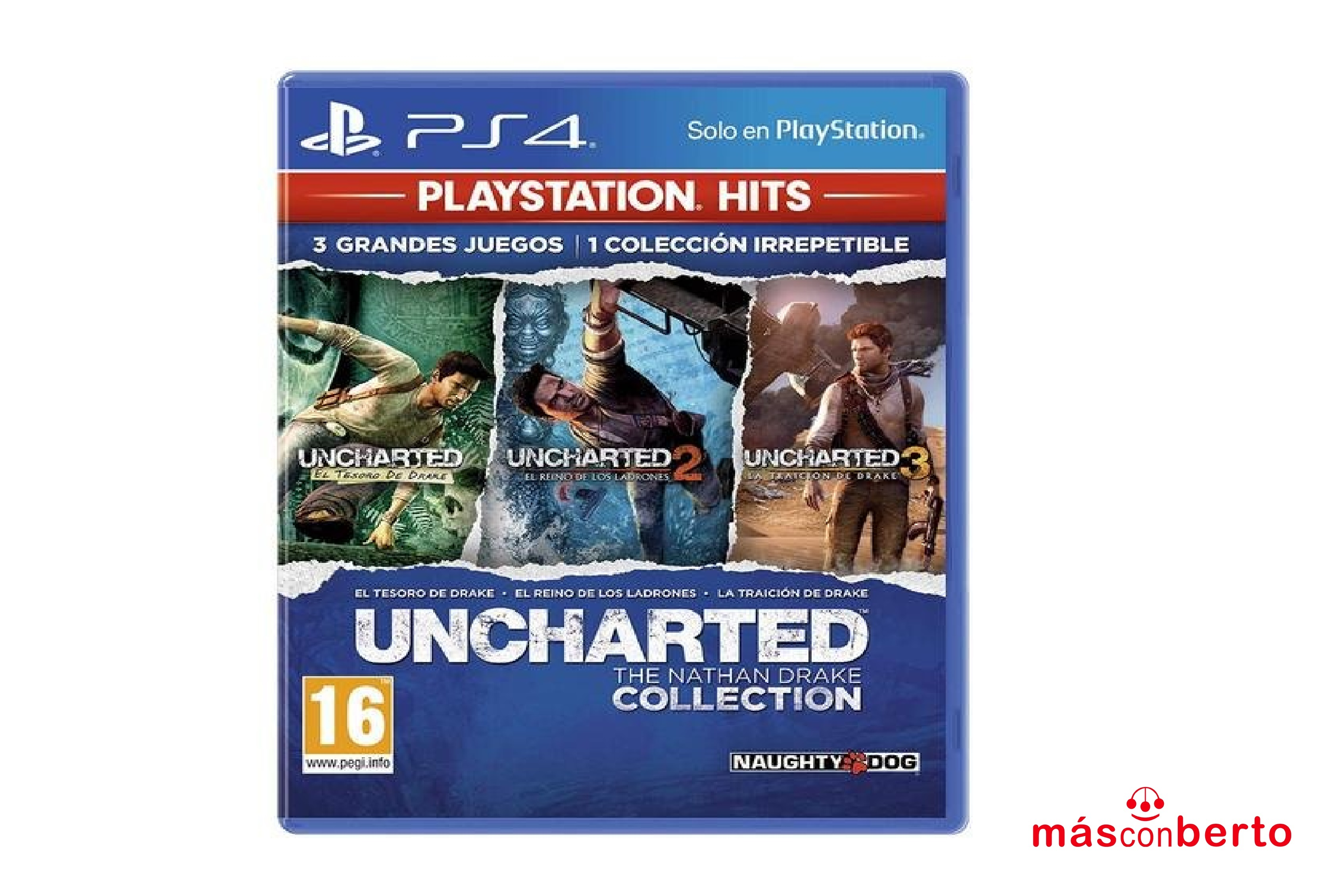 Juego PS4 Uncharted The...