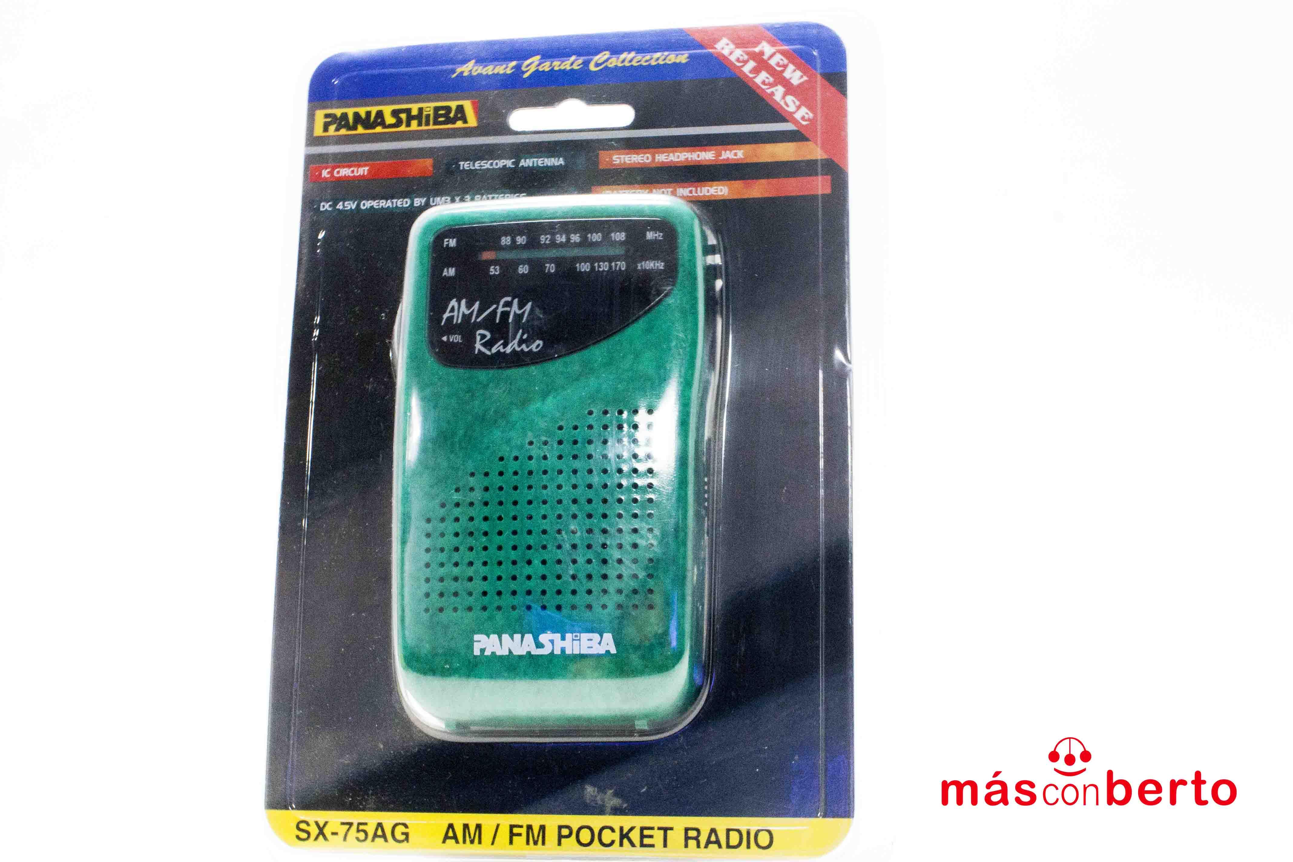 Radio Panashiba bolsillo...