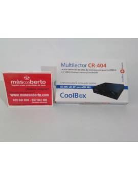 Multilector  de tarjetas CoolB