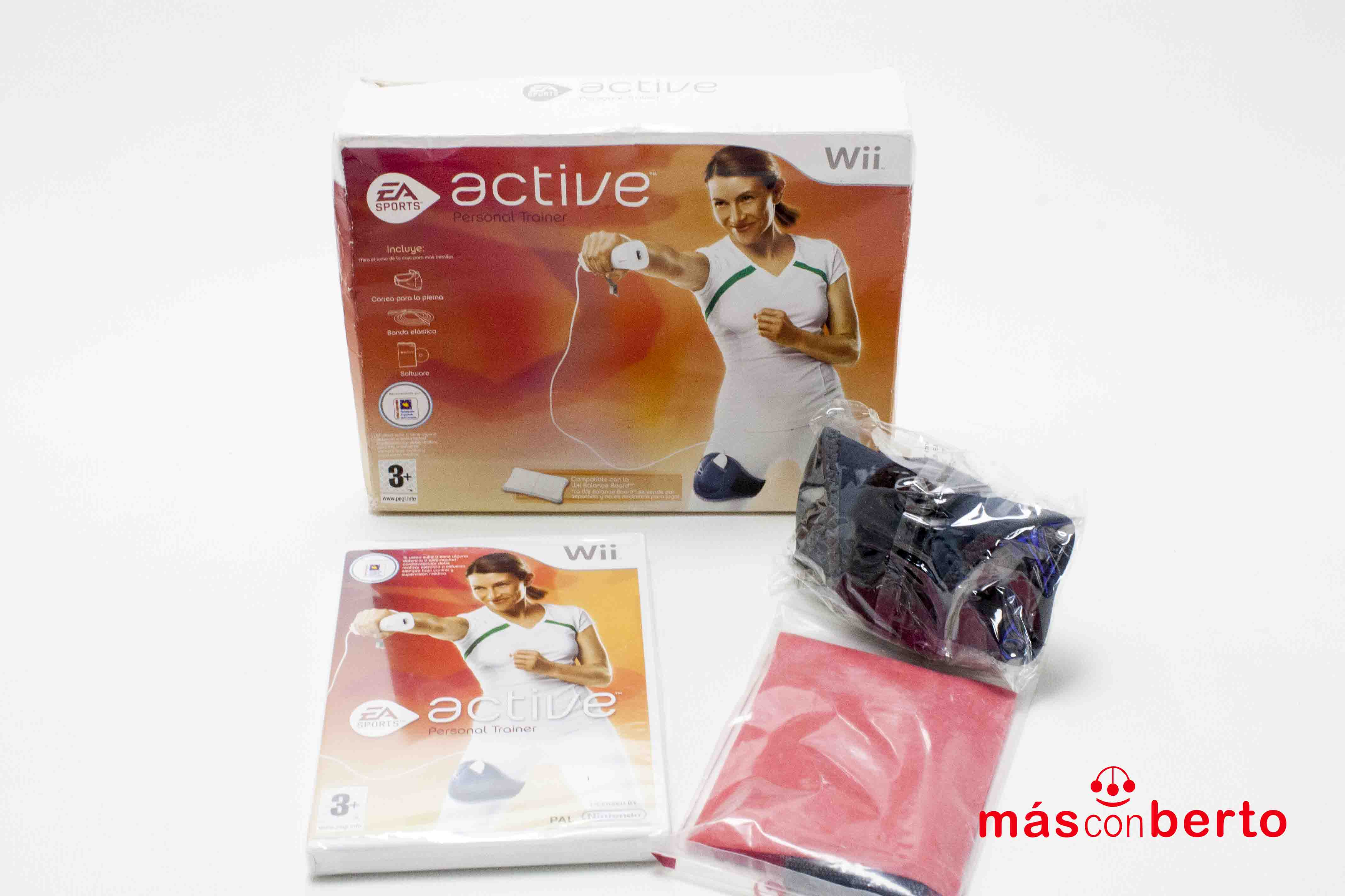 Pack Wii personal Trainer...