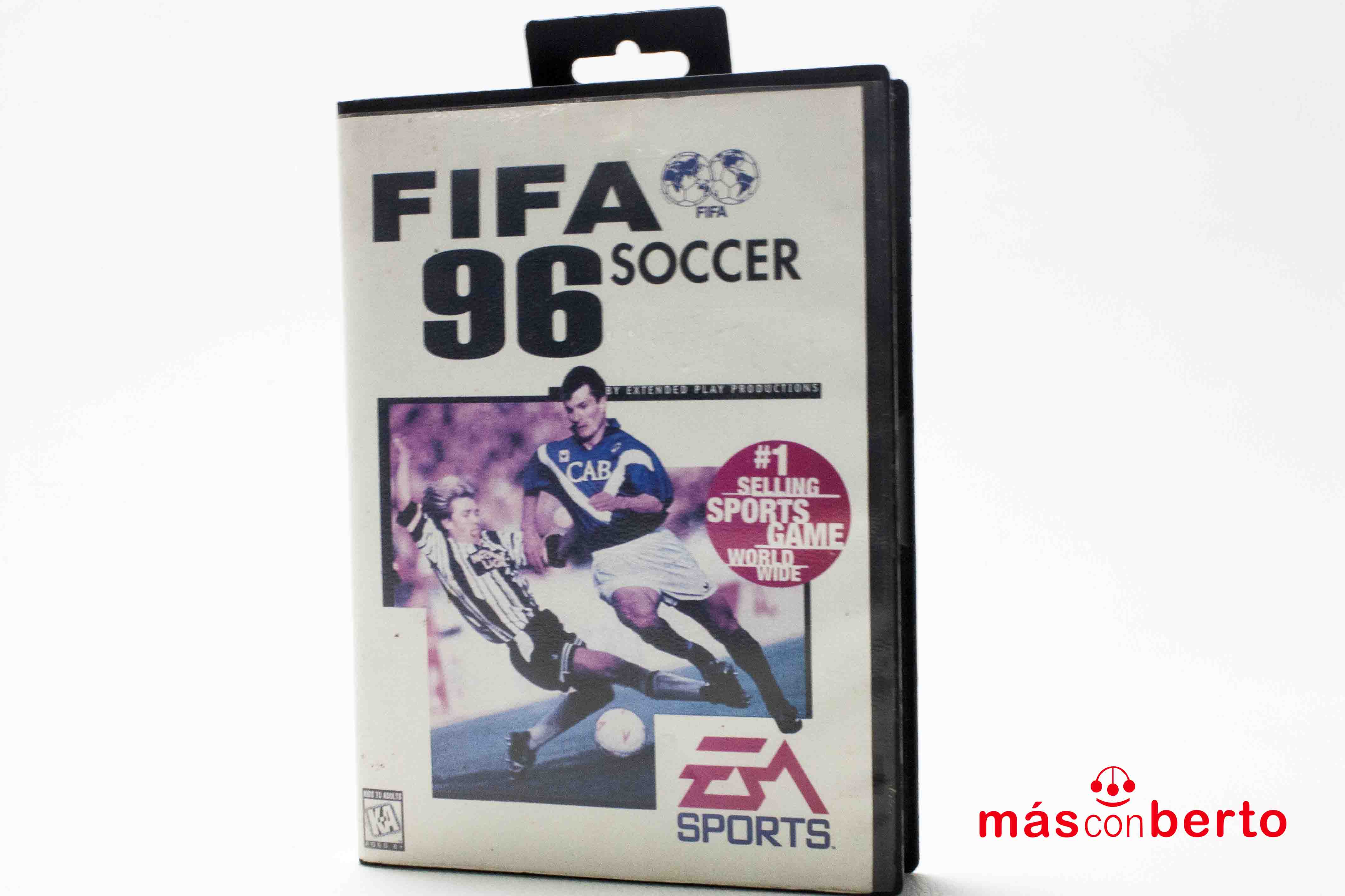 Juego Megadrive Fifa 96