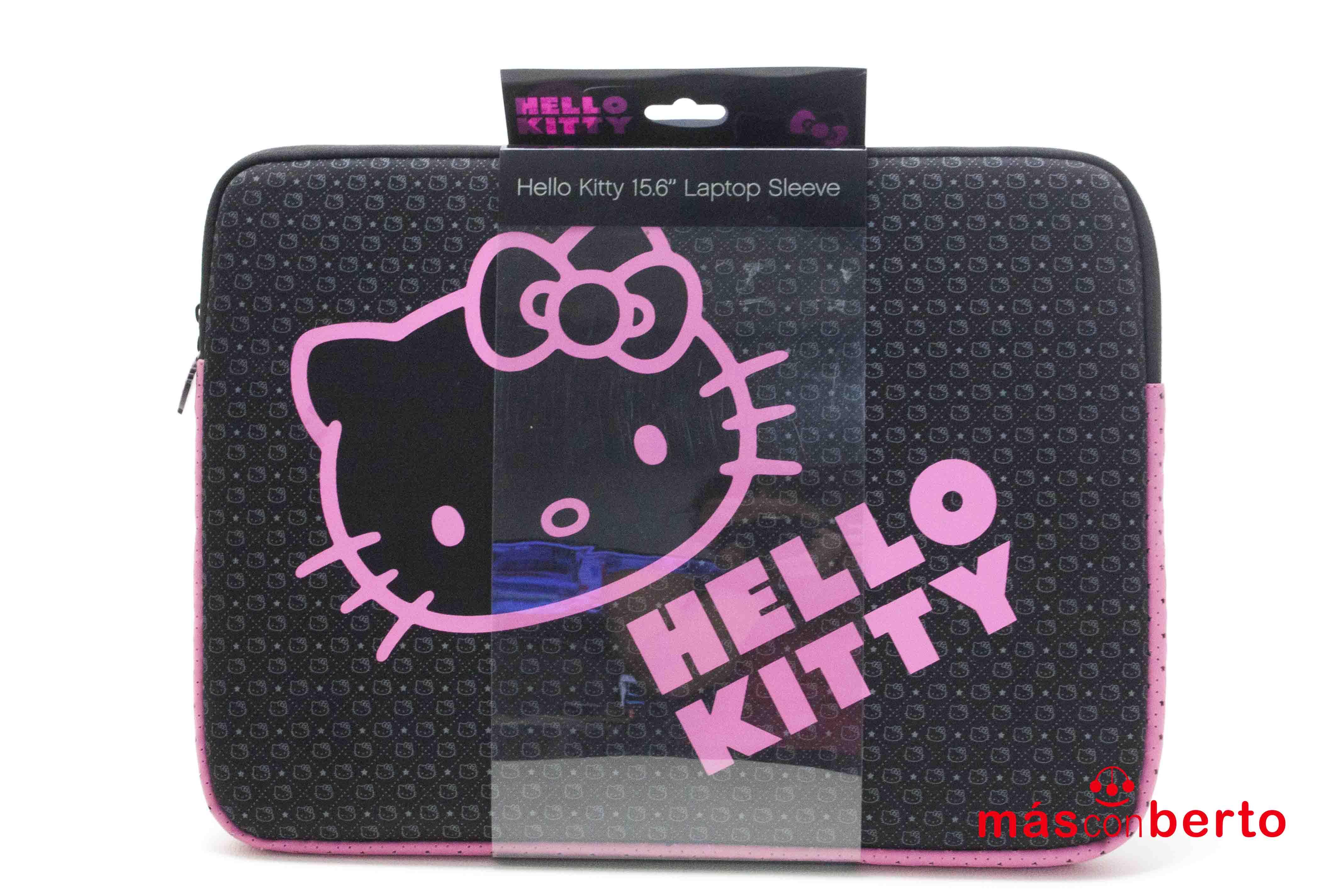 Funda para portatil Hello...